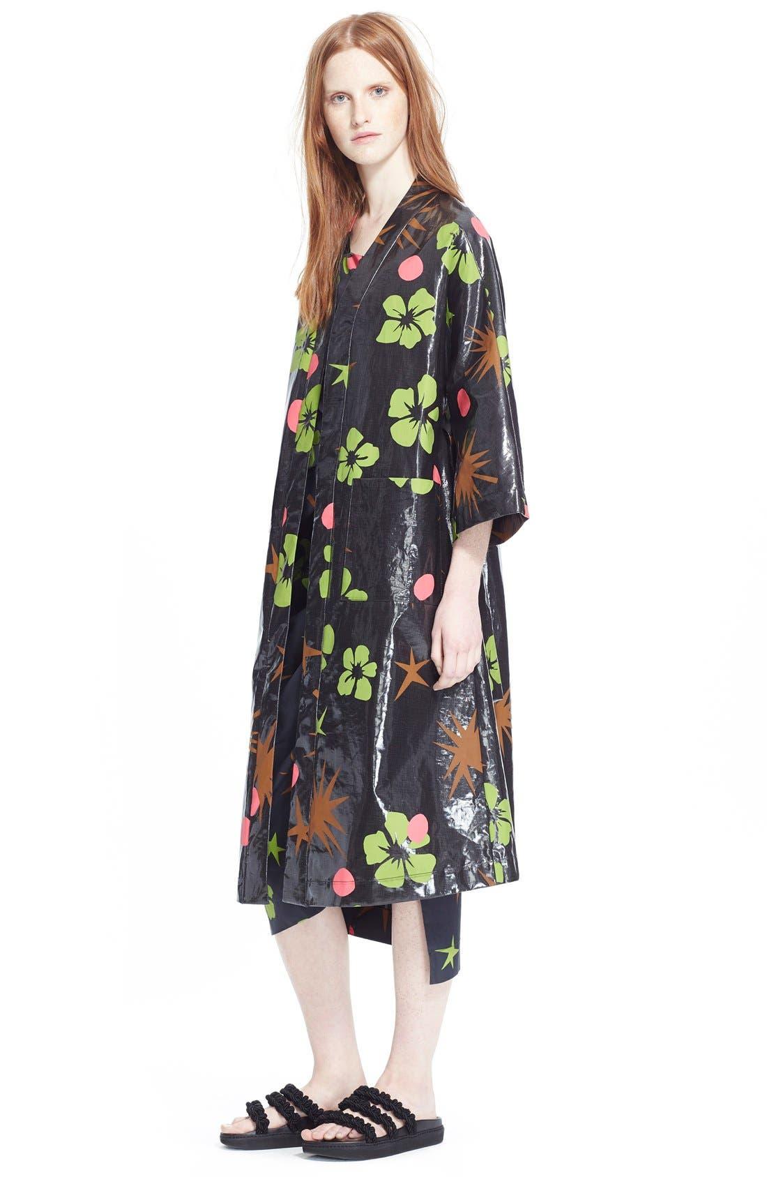 Alternate Image 6  - Isa Arfen Coated Linen Robe Coat