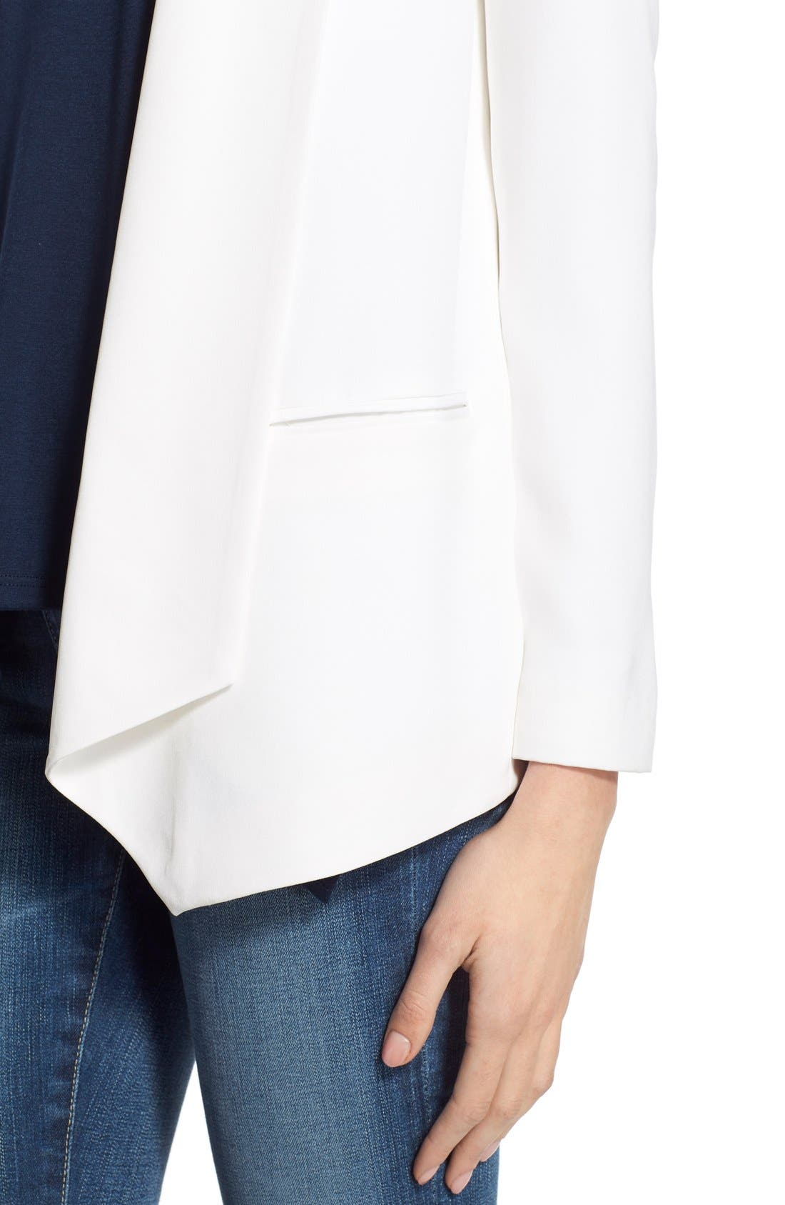 Alternate Image 4  - Rebecca Minkoff 'Becky' Silk Blazer
