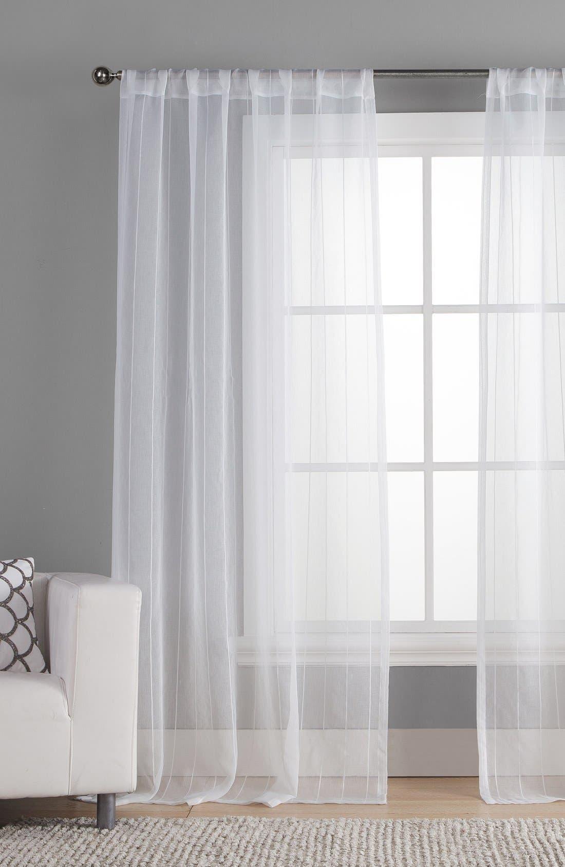 Alternate Image 1 Selected - Duck River Textile 'Henriette' Pole Top Window Panels (Set of 2)