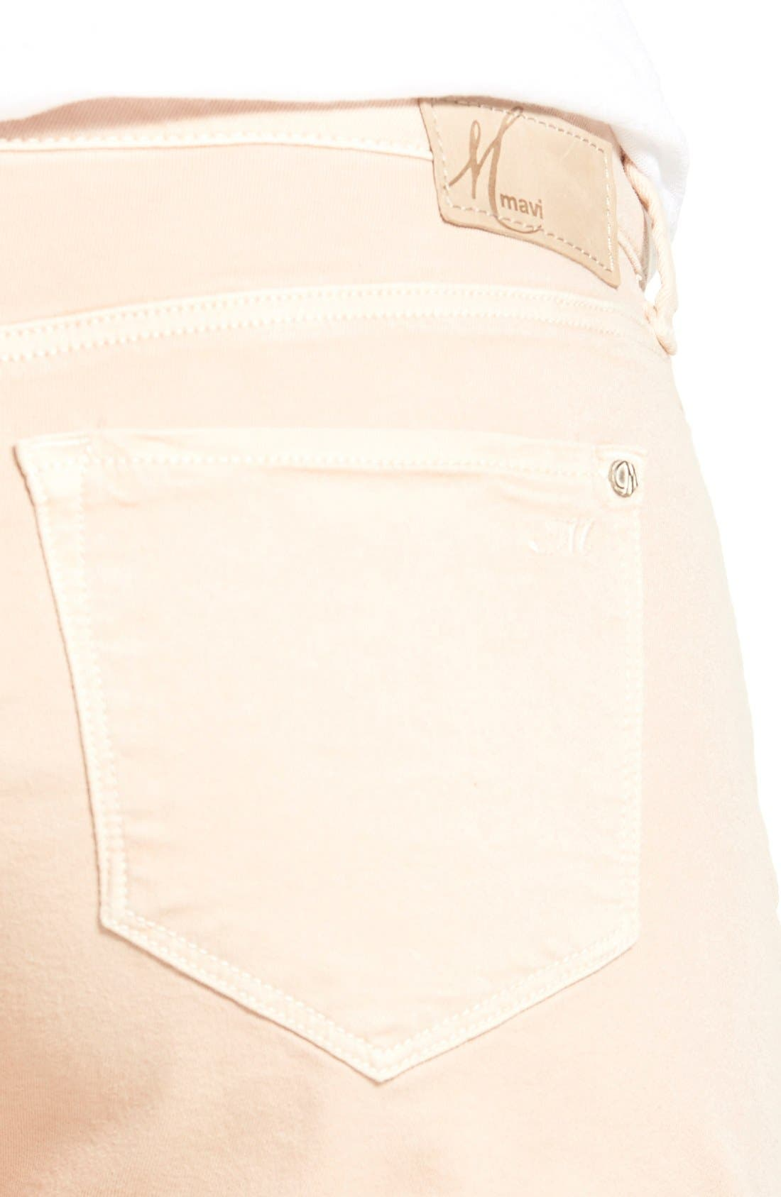 Alternate Image 4  - Mavi Jeans 'Vanna' Stretch Twill Five-Pocket Shorts