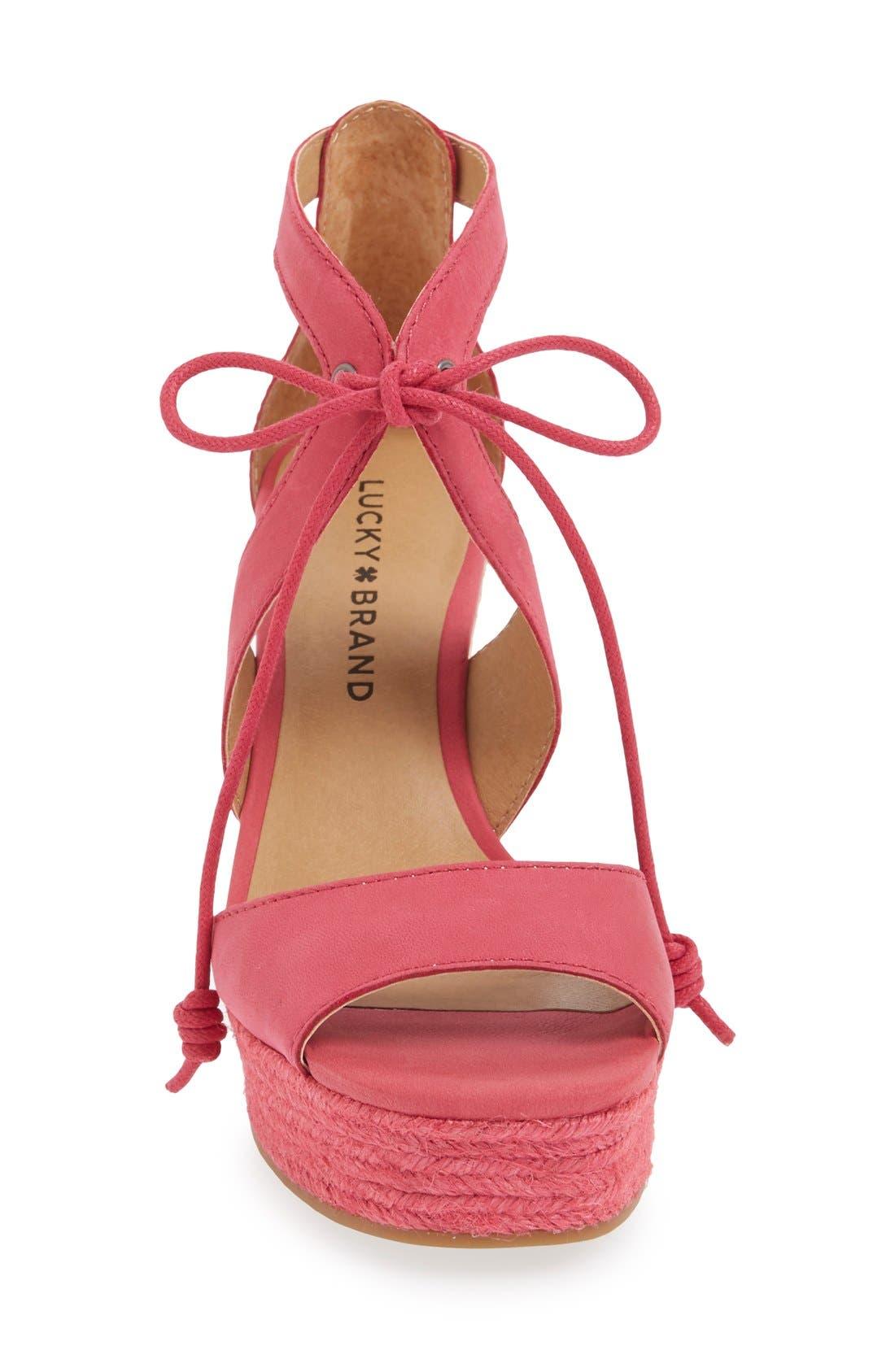 Alternate Image 3  - Lucky Brand 'Listalia' Sandal (Women)