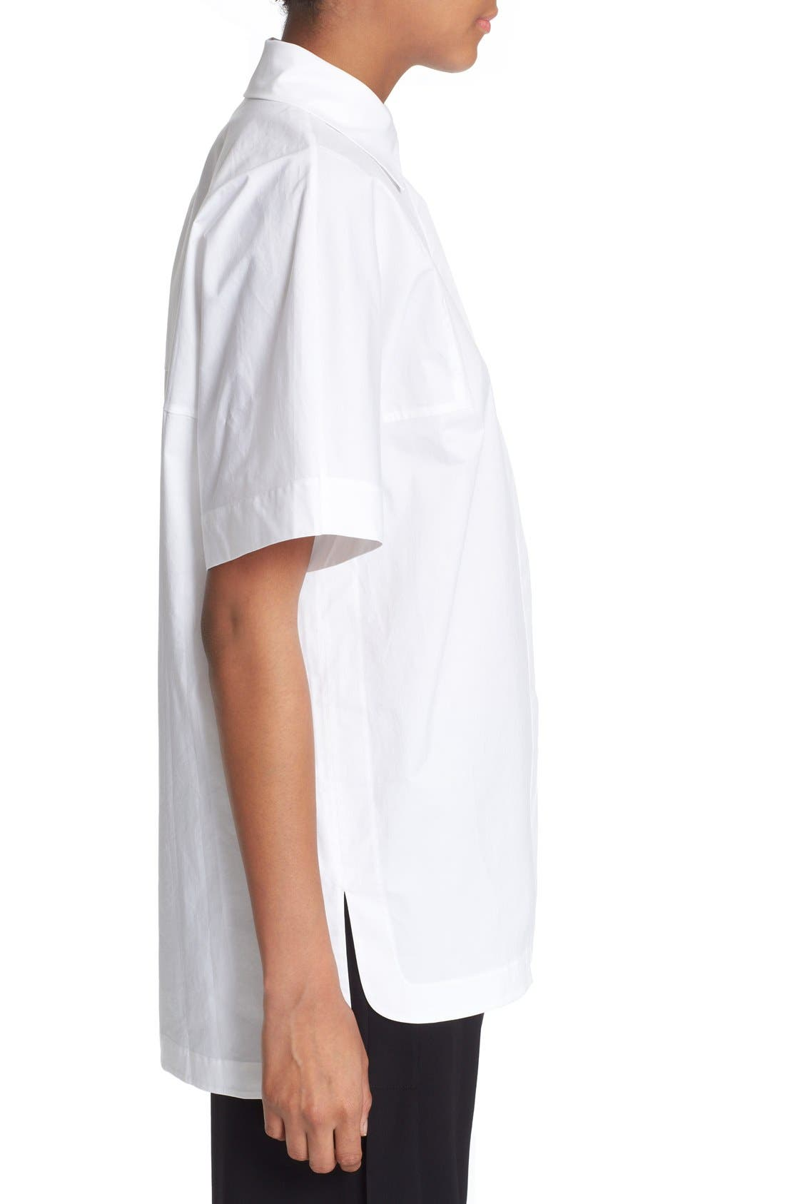 Alternate Image 3  - DKNY Short Sleeve Cotton Shirt