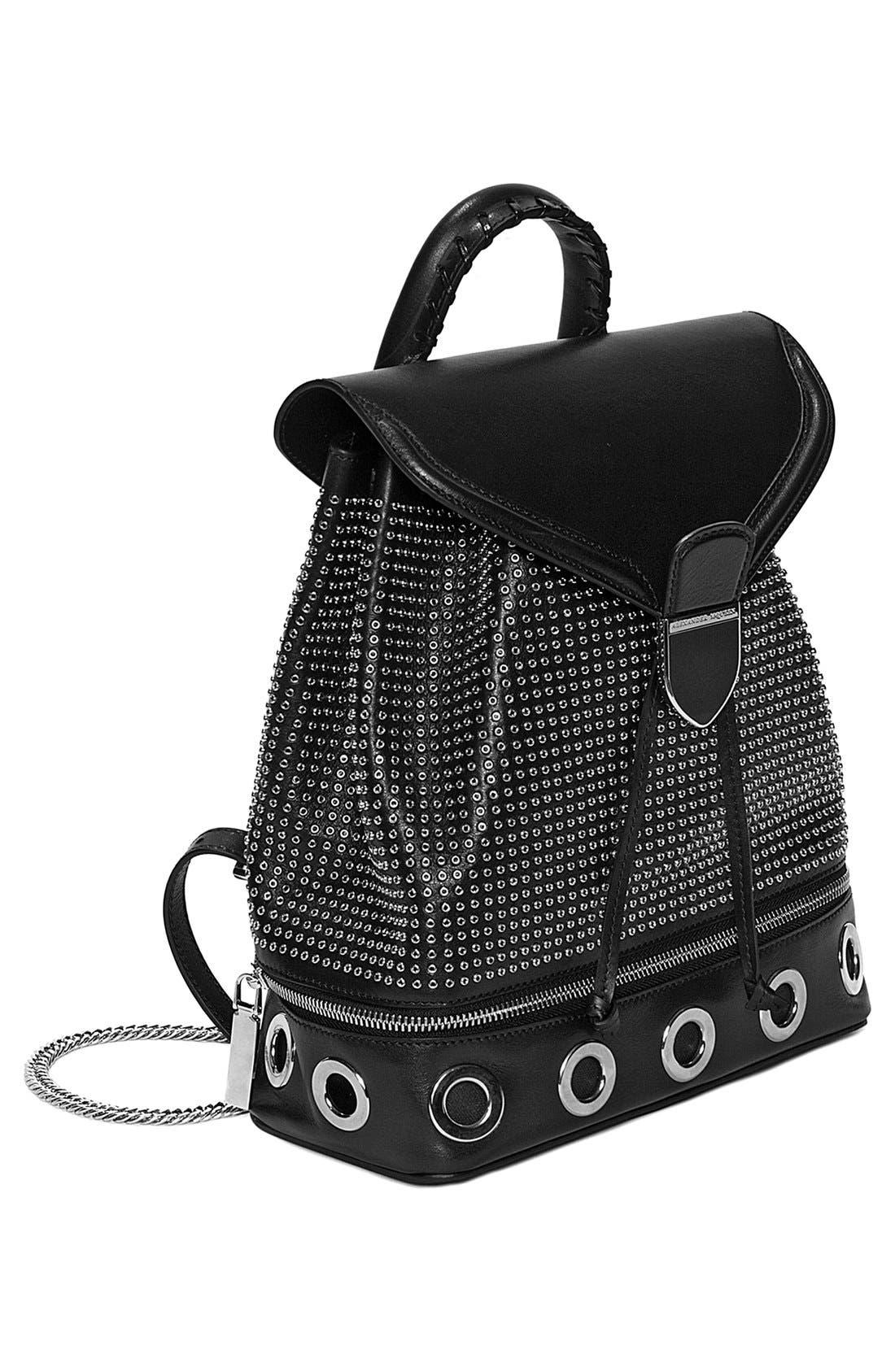 Alternate Image 2  - Alexander McQueen 'Small Legend' Eyelet Leather Backpack
