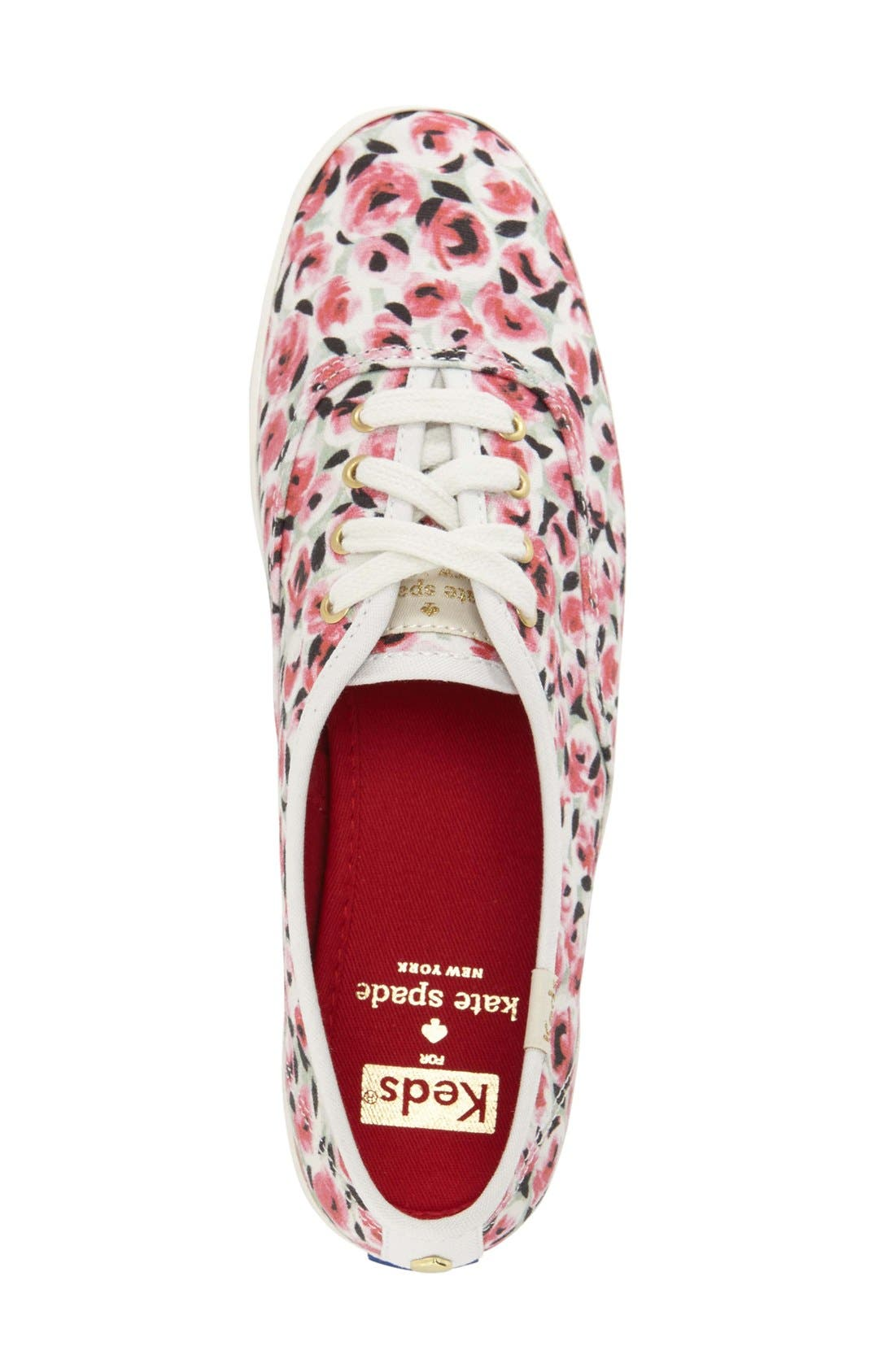 Alternate Image 3  - Keds® for kate spade new york 'kick' print sneaker (Women)