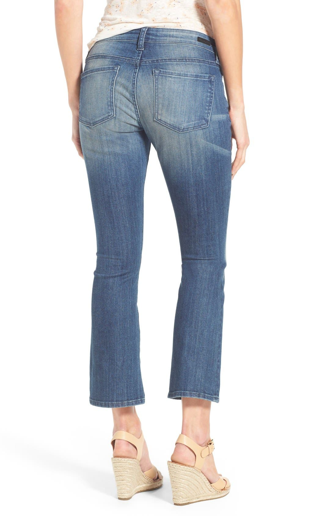 Alternate Image 2  - KUT from the Kloth 'Reese' Crop Flare Leg Jeans (Primo)