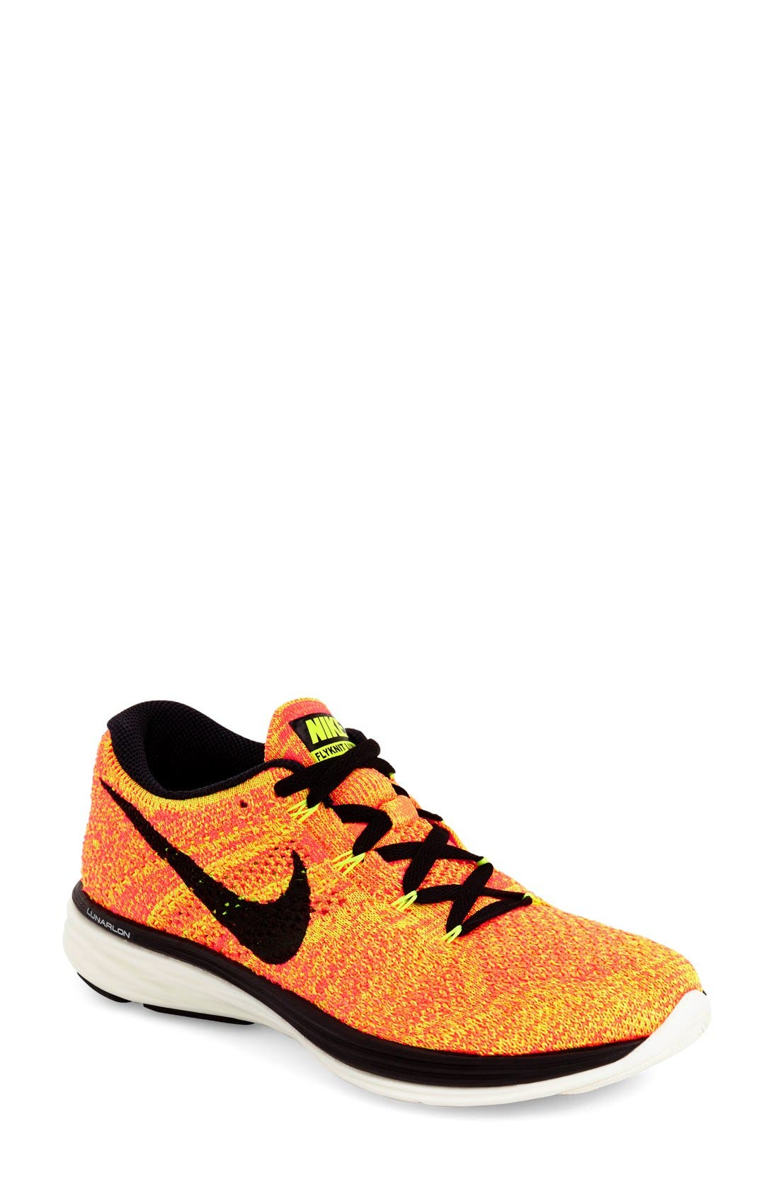 Alternate Image 1 Selected - Nike 'Flyknit Lunar 3' Running Shoe (Women)