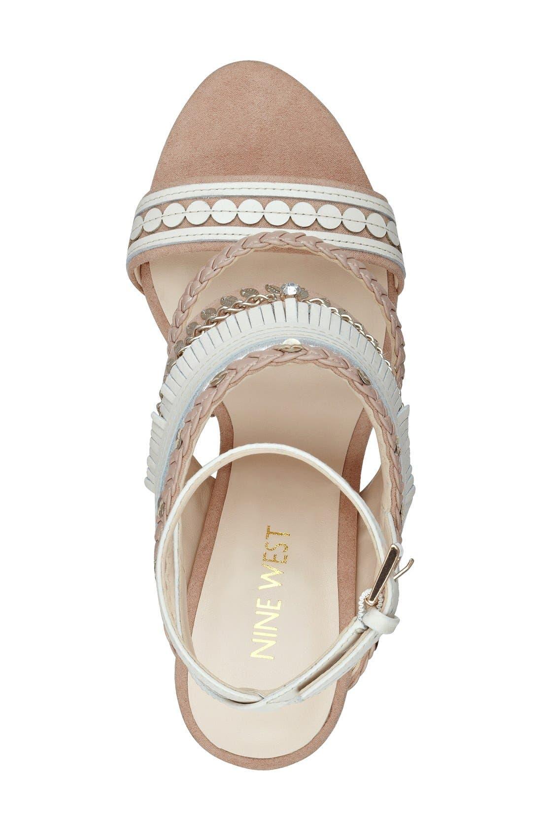 Alternate Image 3  - Nine West 'Baebee' Block Heel Sandal (Women)