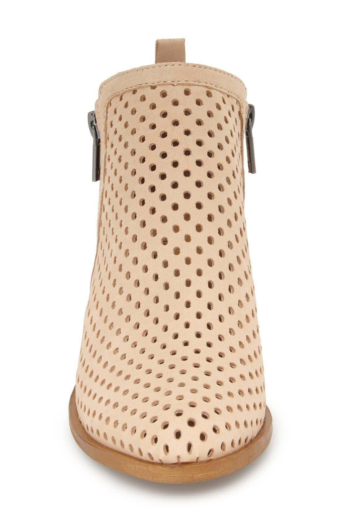 Alternate Image 3  - Lucky Brand 'Basel' Perforated Bootie (Women)