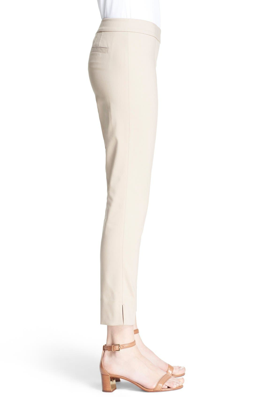 Alternate Image 3  - Tory Burch 'Callie' Seamed Crop Pants
