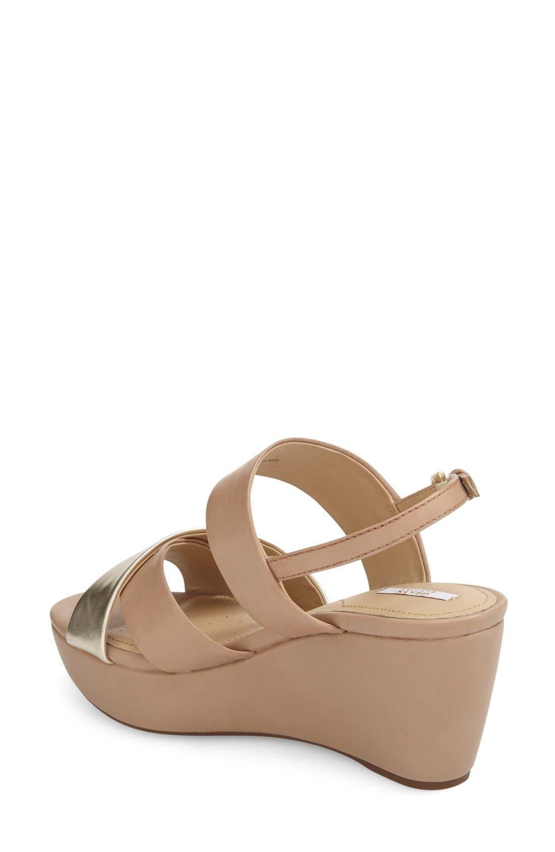 Alternate Image 2  - Geox 'Thelma' Platform Wedge Sandal (Women)