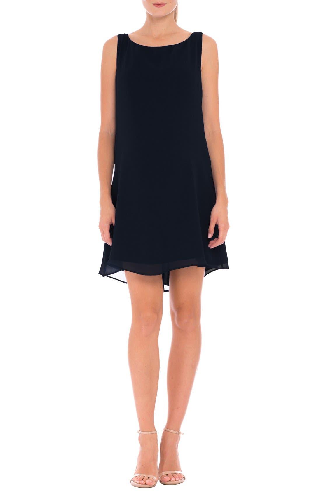 OLIAN 'Leah' Chiffon Maternity Dress