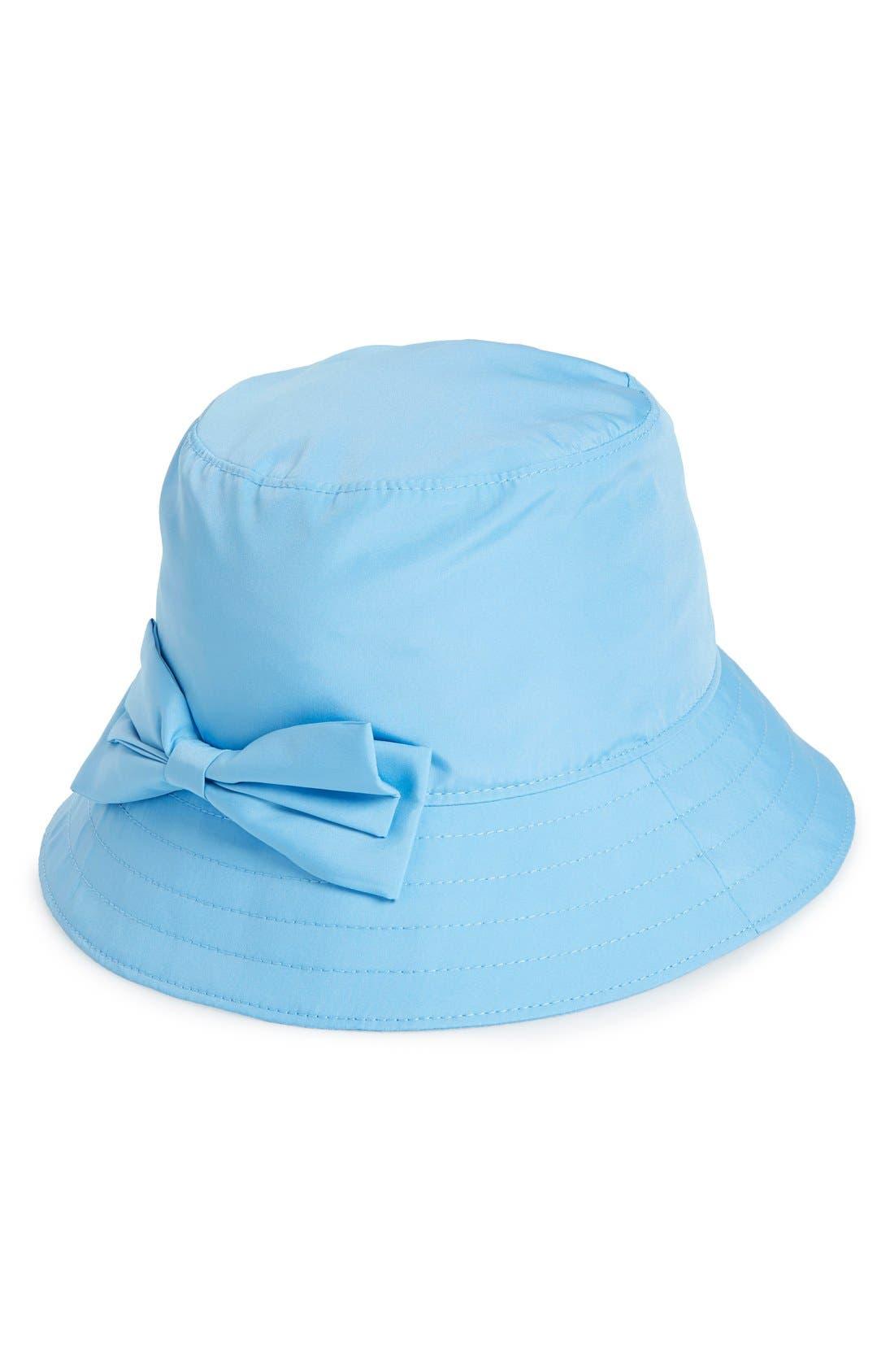 Alternate Image 1 Selected - kate spade new york rain bucket hat