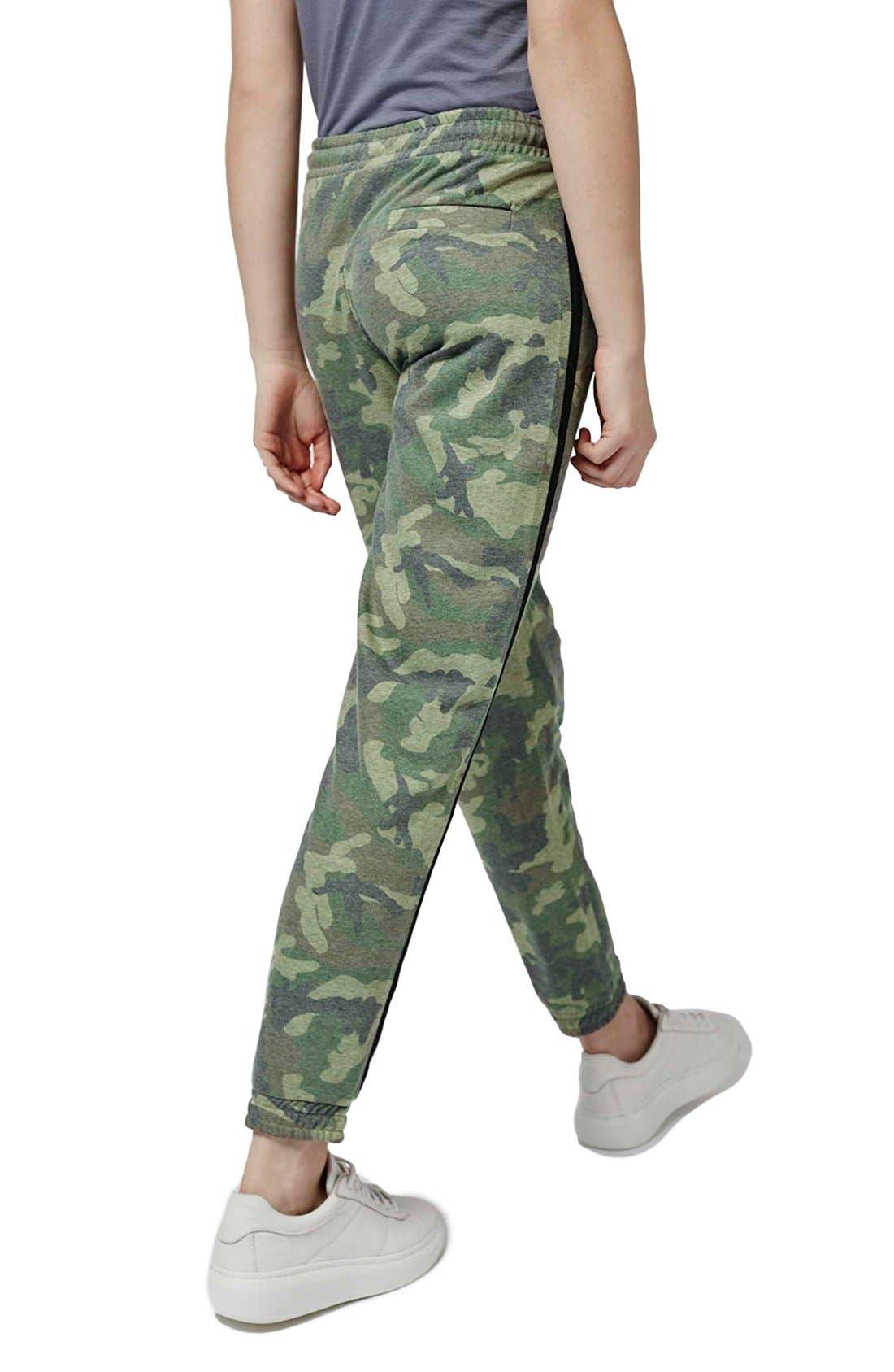 Alternate Image 3  - Topshop Camo Sweatpants