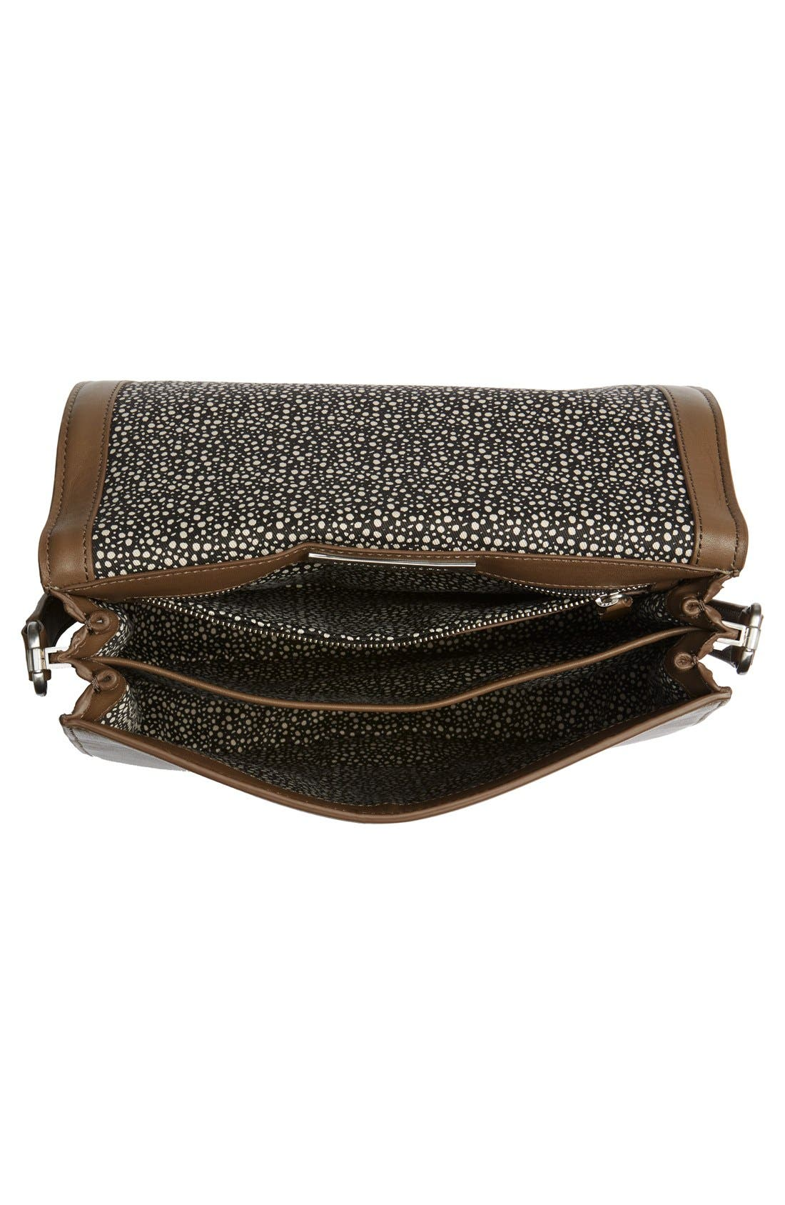 Alternate Image 4  - Loeffler Randall 'Large' Leather Saddle Bag