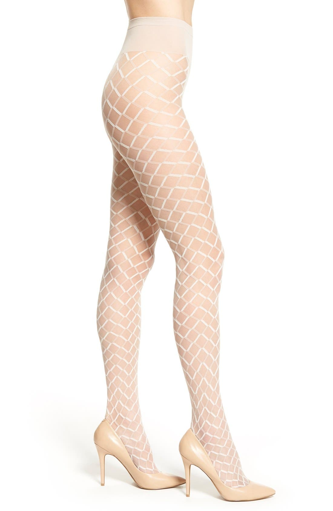Alternate Image 1 Selected - Oroblu 'Collant Funny' Geometric Pattern Tights
