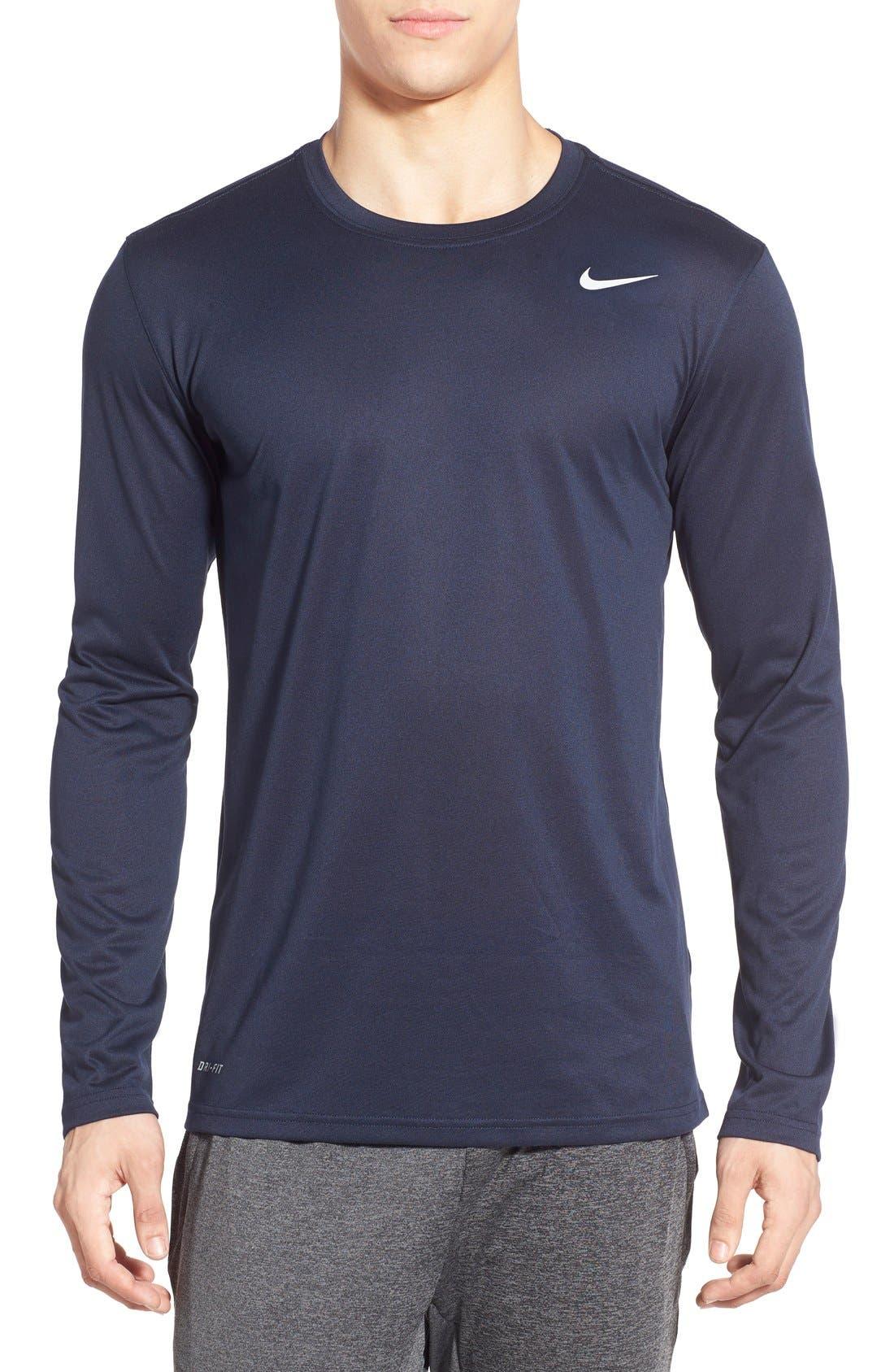 Main Image - Nike 'Legend 2.0' Long Sleeve Dri-FIT Training T-Shirt