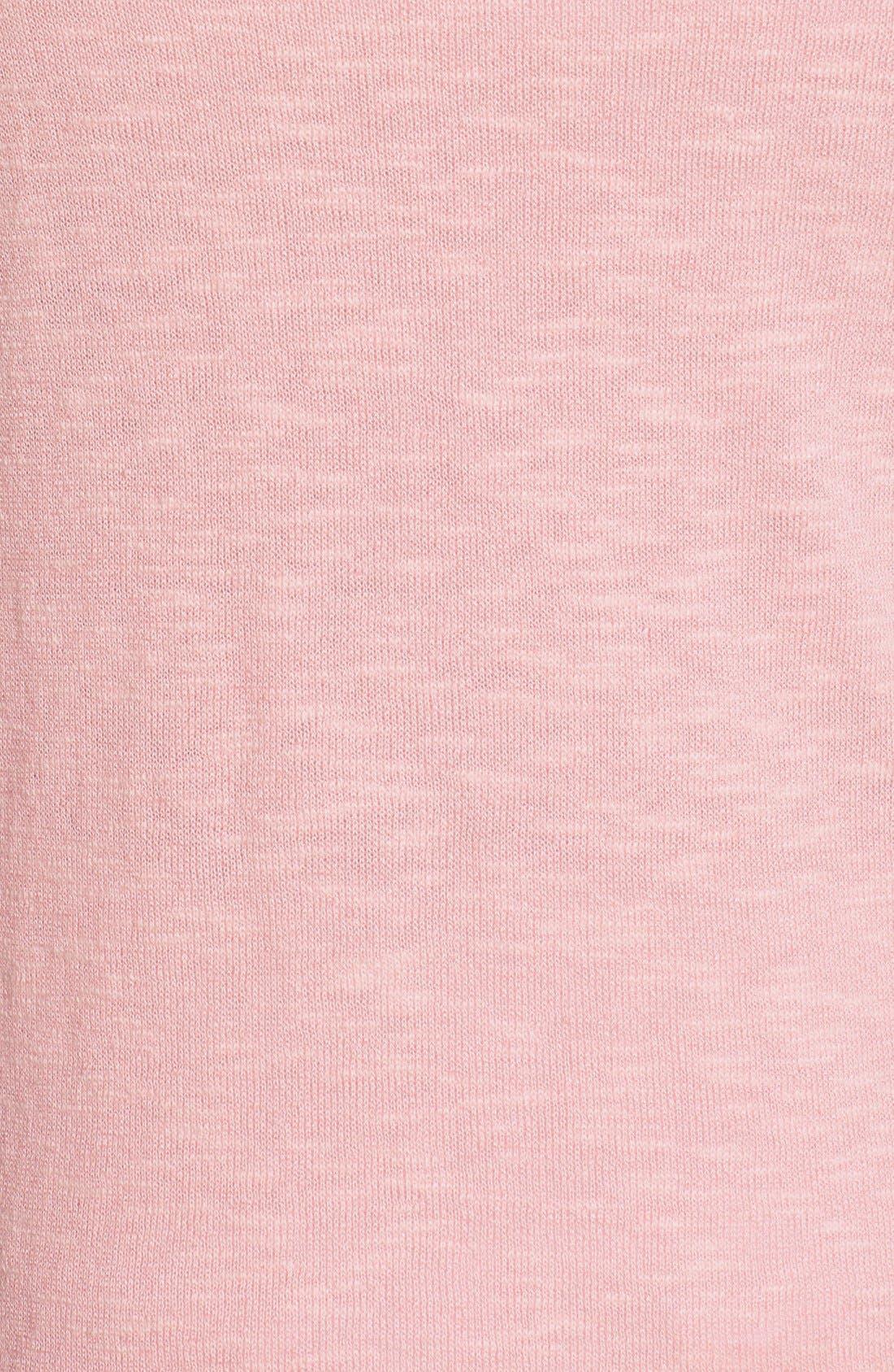 Alternate Image 5  - Eileen Fisher Organic Linen & Cotton Bateau Neck Sweater (Regular & Petite)