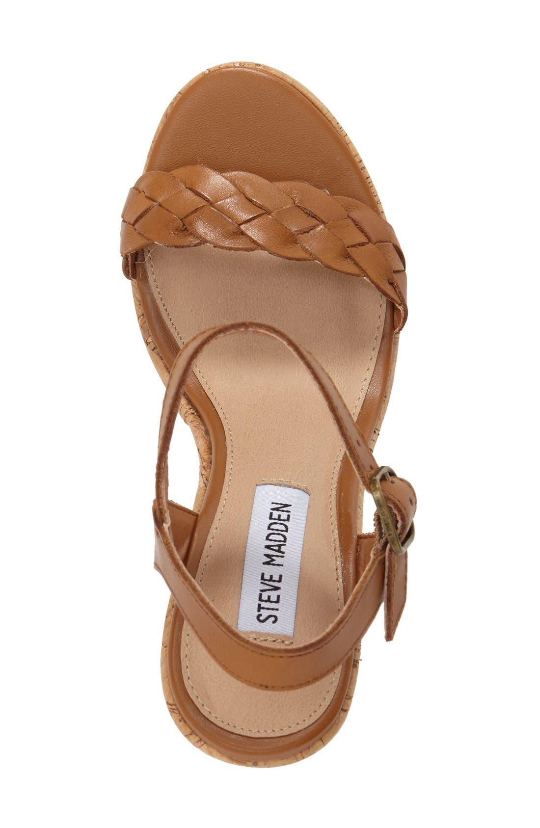 Alternate Image 3  - Steve Madden 'Emmey' Platform Wedge Sandal (Women)