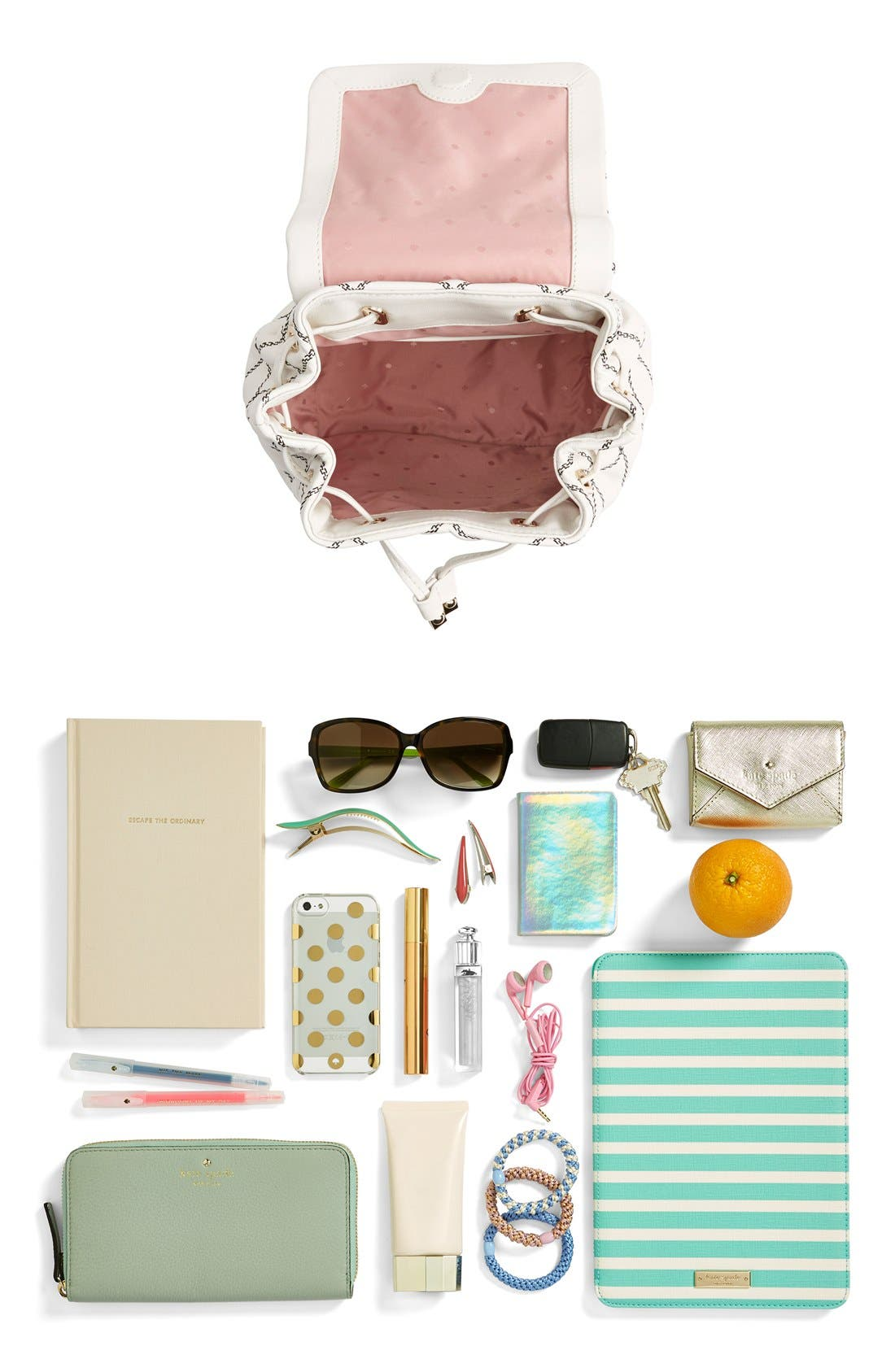 Alternate Image 7  - kate spade new york 'emerson place - jessa' quilted leather backpack