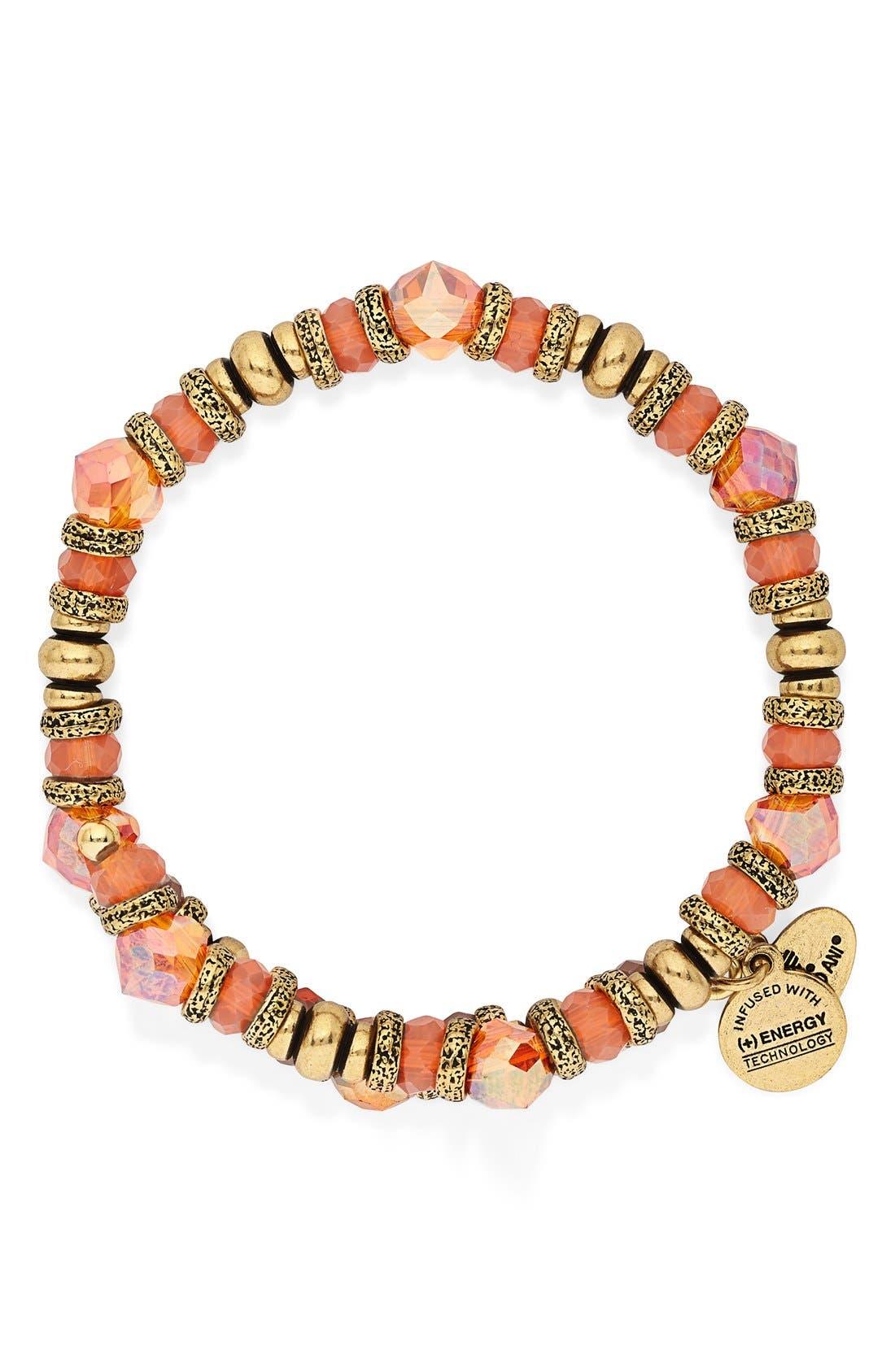 Alternate Image 2  - Alex and Ani 'Sunset Nature's Brilliance' Beaded Wrap Bracelet