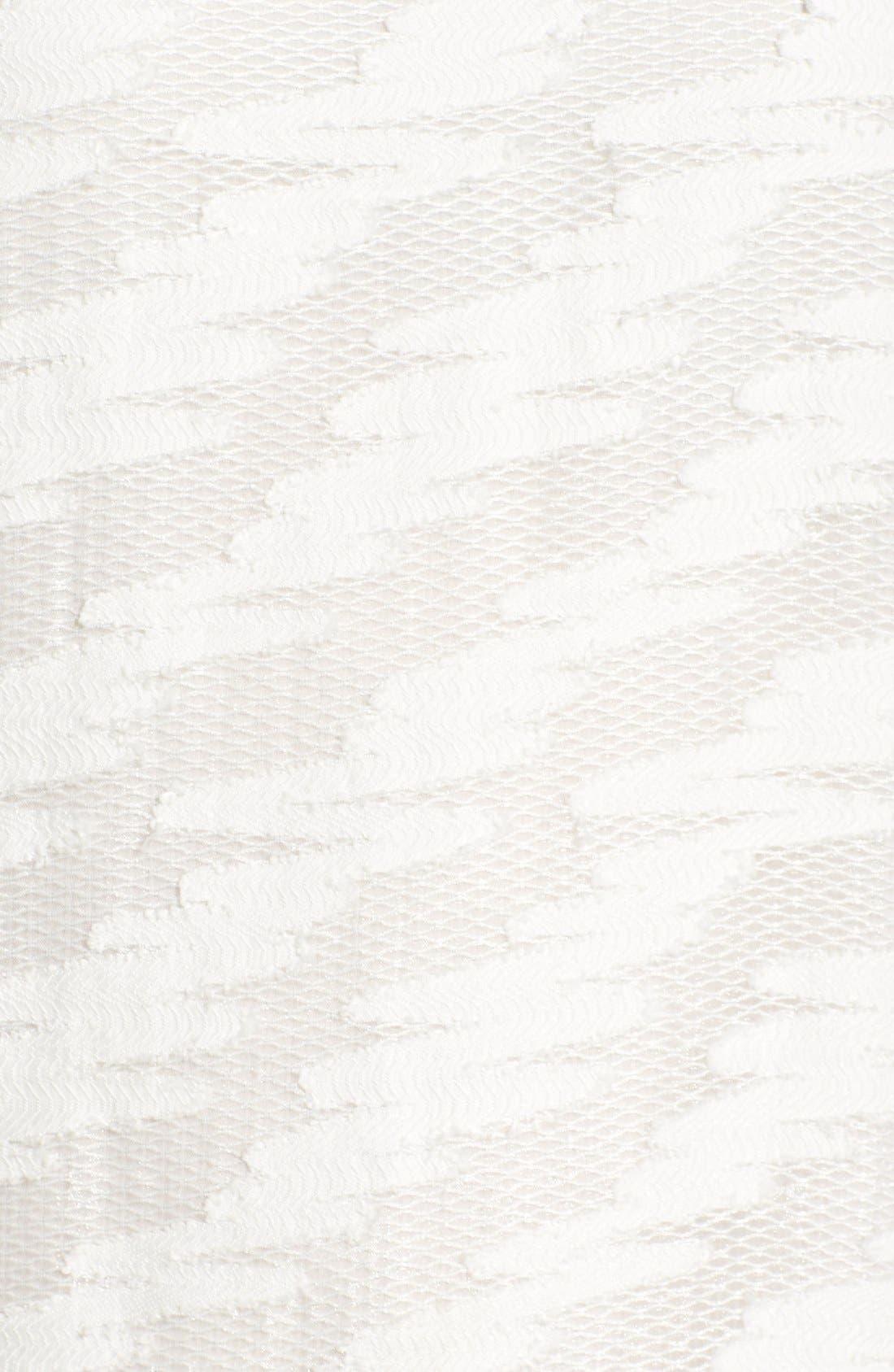 Alternate Image 5  - Halogen® Lace Detail Sheath Dress (Regular & Petite)