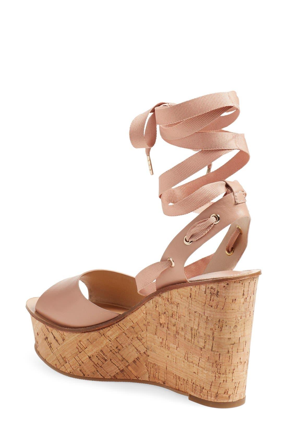 Alternate Image 2  - Topshop 'Wise' Platform Wedge Sandal (Women)