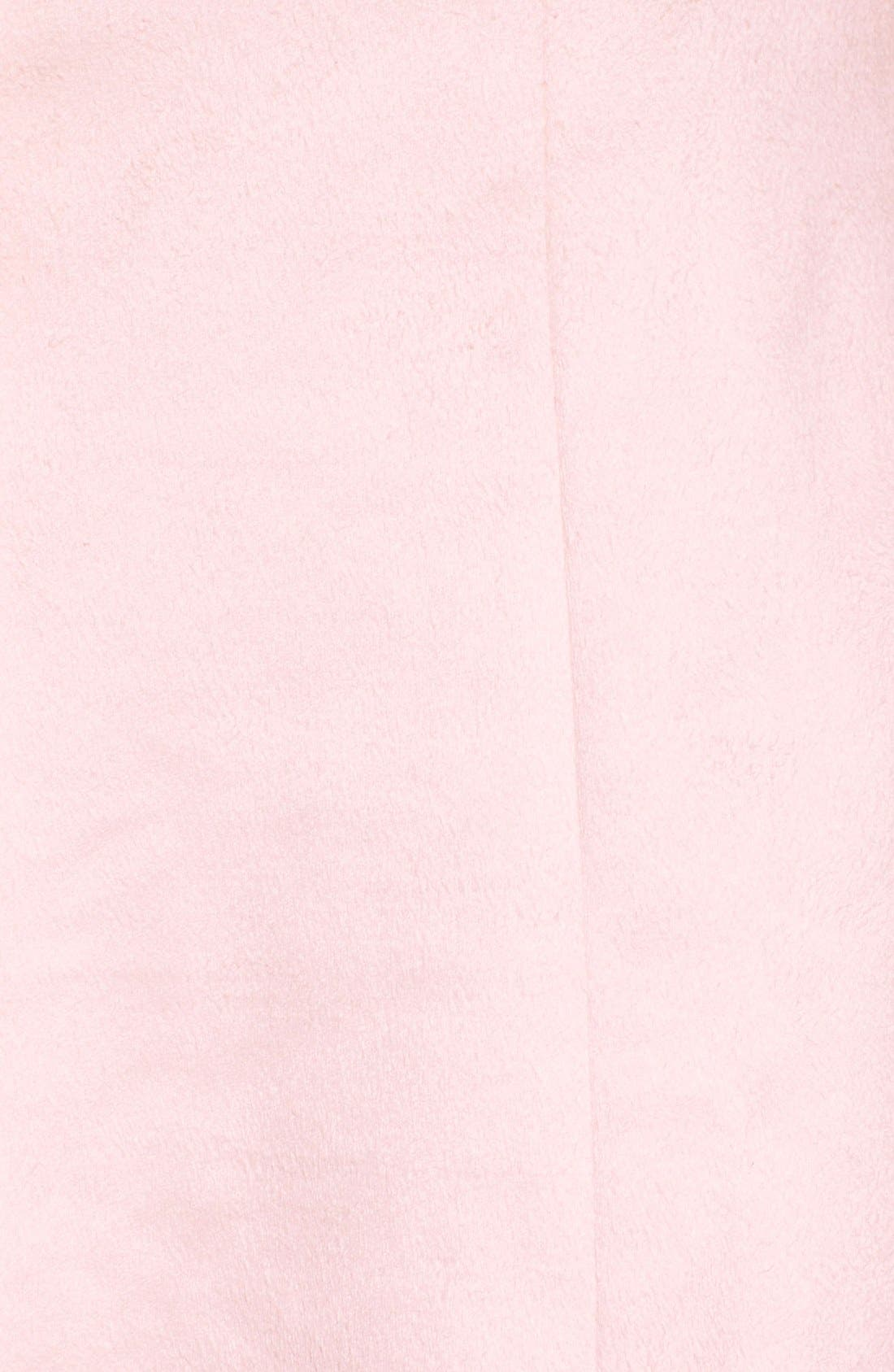 Alternate Image 5  - Lovers + Friends 'Blue Moon' Faux Suede Skirt