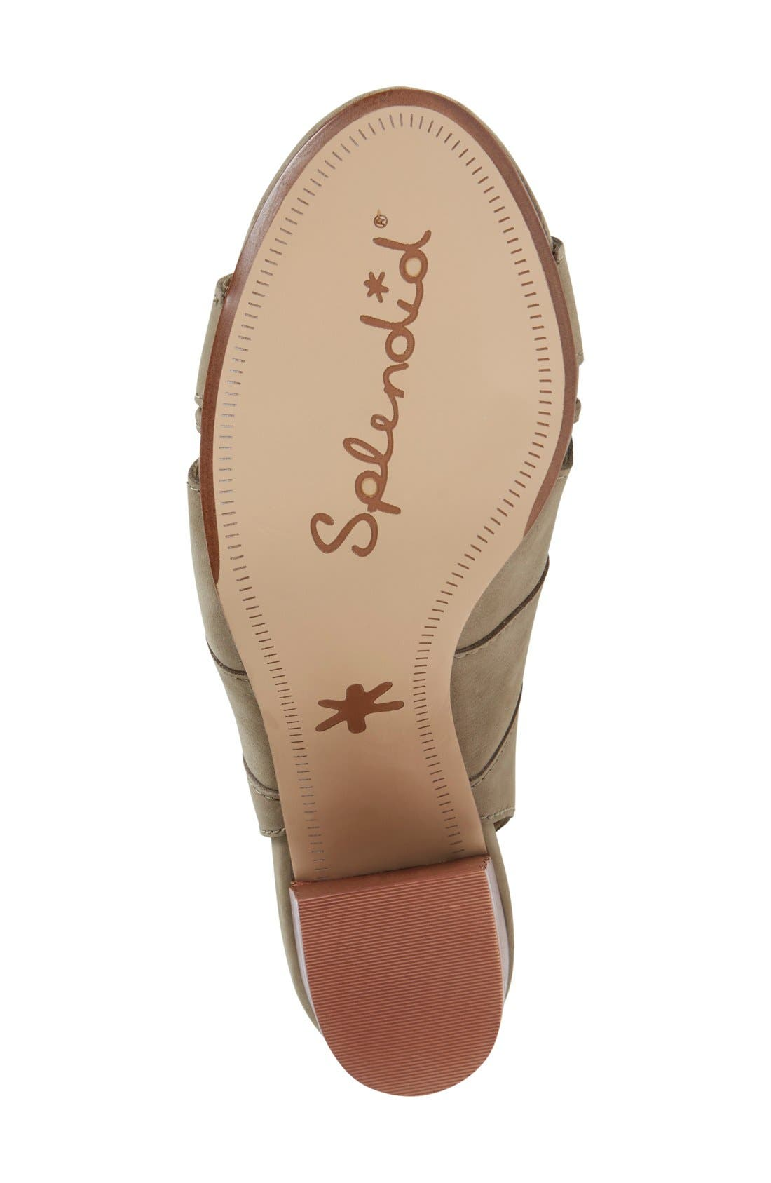 Alternate Image 4  - Splendid 'Banden' Lace-up Sandal (Women)