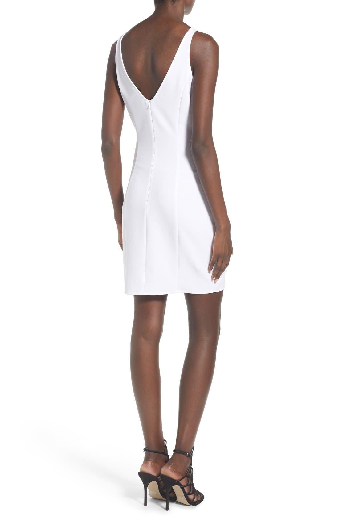 Alternate Image 2  - Leith V-Neck Sheath Dress