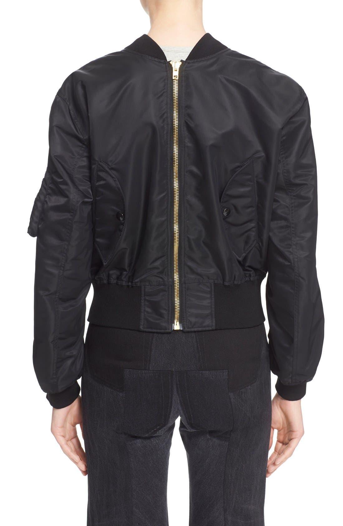 Alternate Image 2  - Vetements Nylon Bomber Jacket