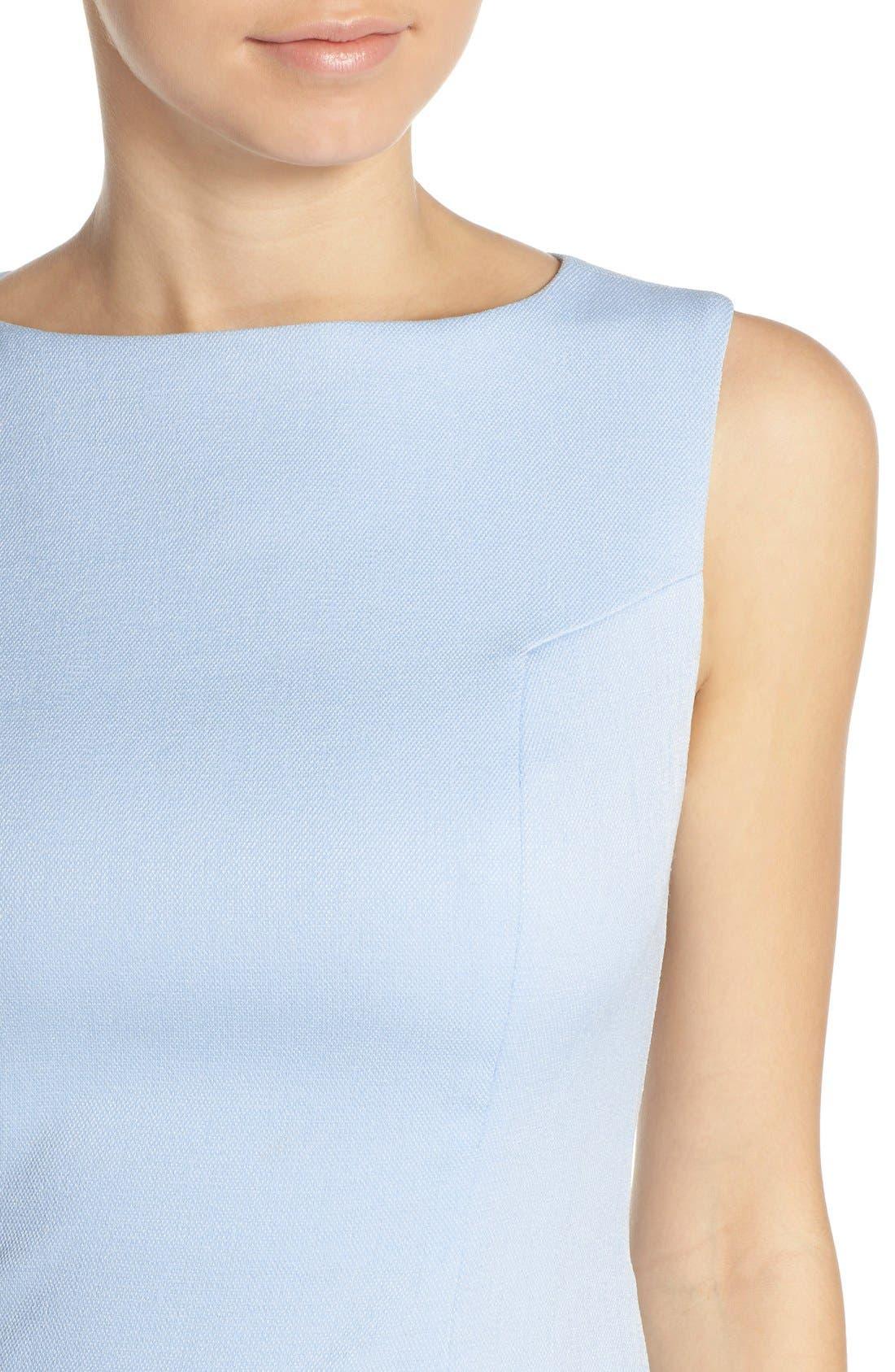 Alternate Image 5  - Chelsea28 Woven Fit & Flare Dress
