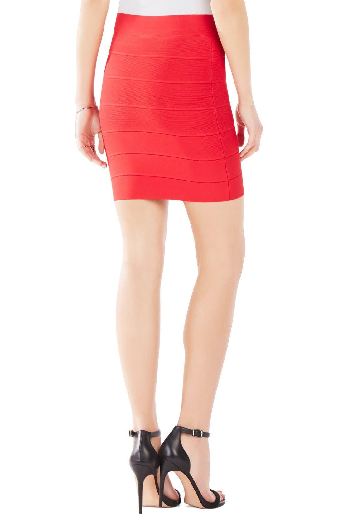Alternate Image 2  - BCBGMAXAZRIA 'Simone' Bandage Knit Pencil Skirt