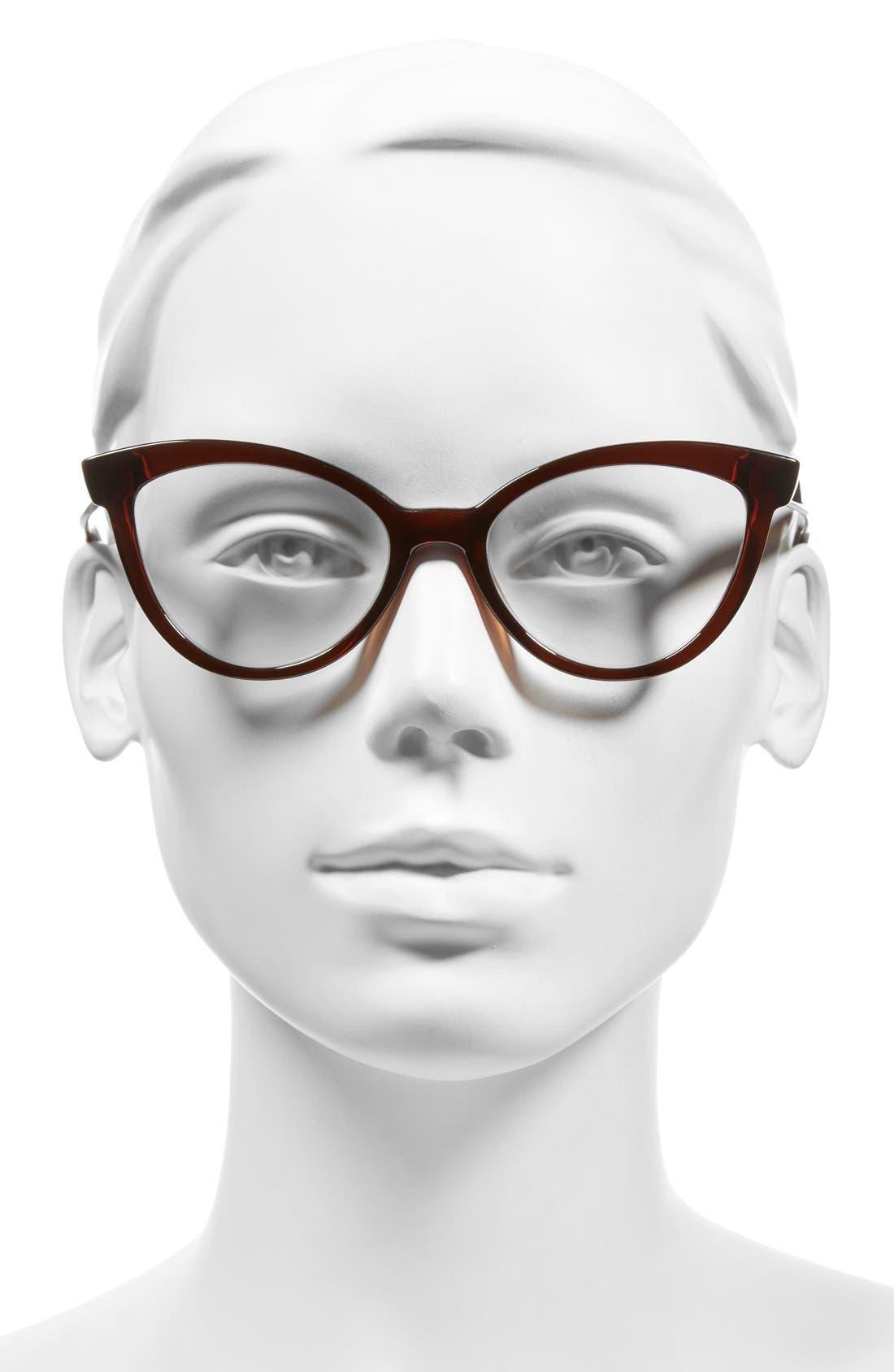 Alternate Image 2  - kate spade new york 'danna' 52mm cat eye reading glasses