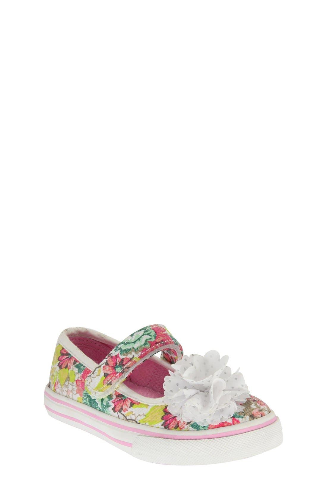 Nina 'Babette' Mary Jane Sneaker (Walker & Toddler)