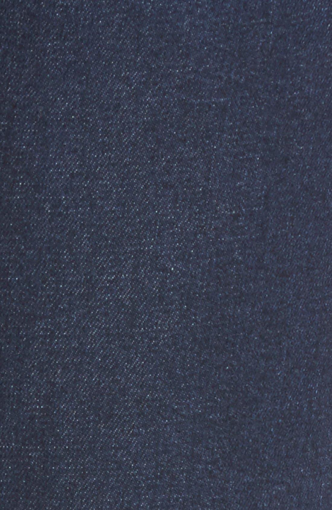 Alternate Image 5  - James Jeans Ankle Five-Pocket Denim Leggings