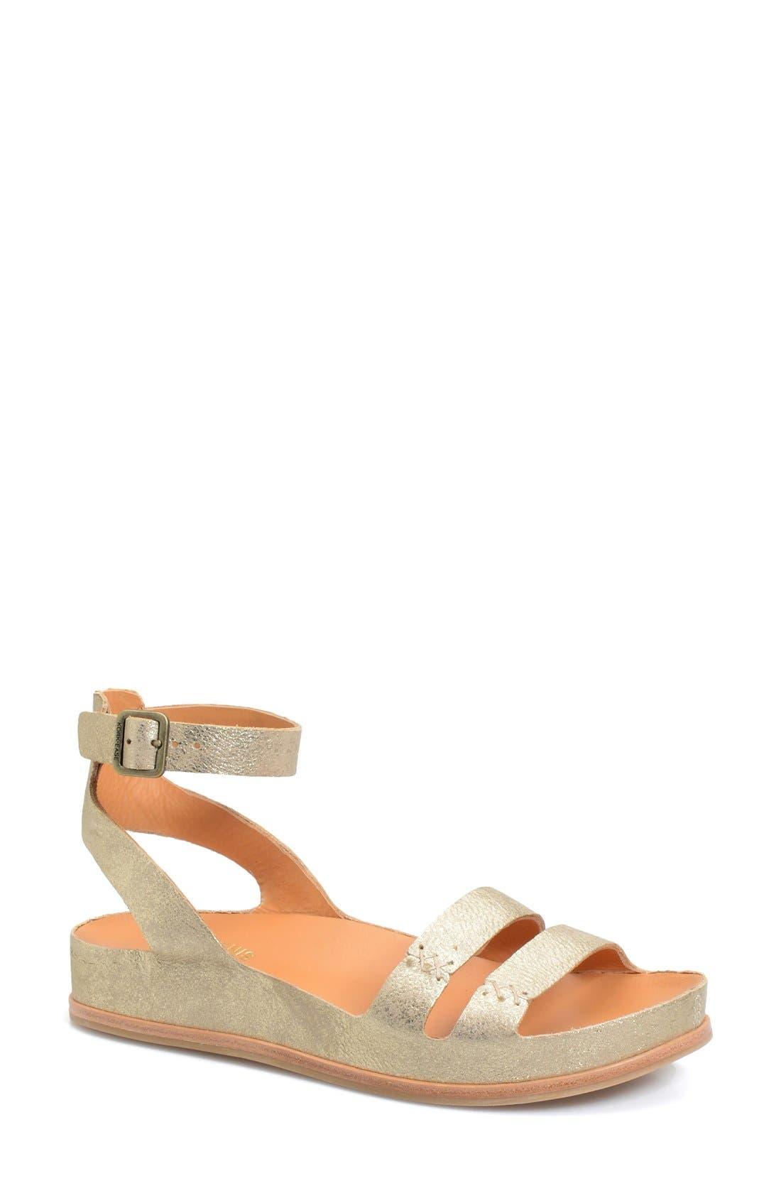 KORK-EASE® 'Audrina' Ankle Strap Sandal
