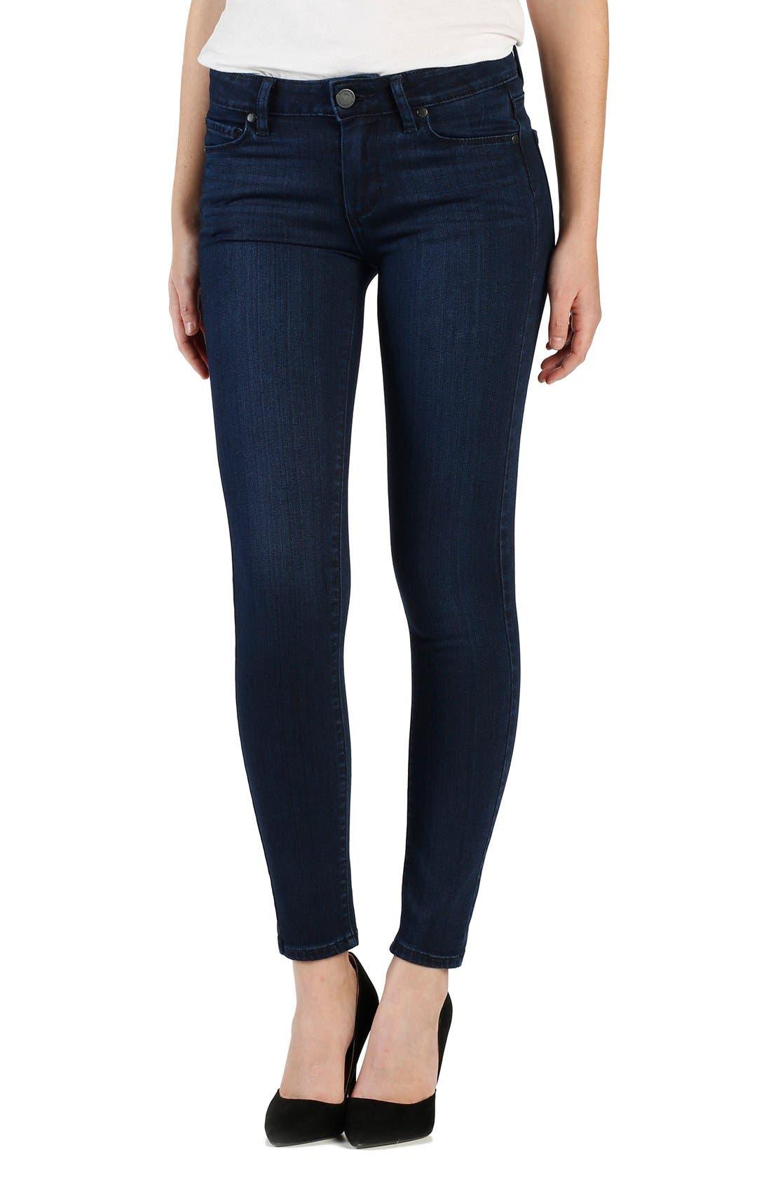 Alternate Image 1 Selected - PAIGE 'Transcend - Verdugo' Ultra Skinny AnkleJeans (Holly)