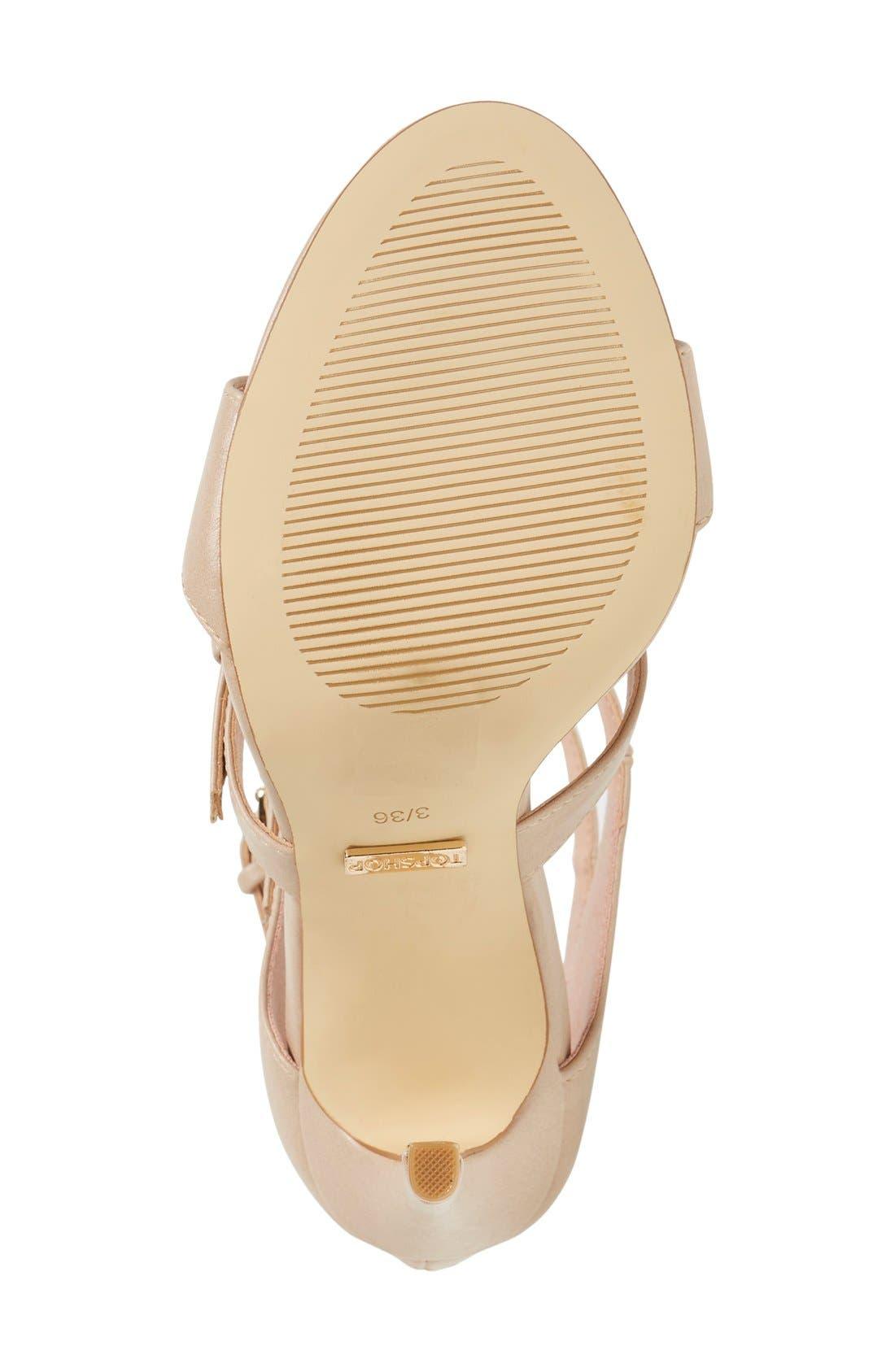 Alternate Image 4  - Topshop 'Ripley' Sandal (Women)
