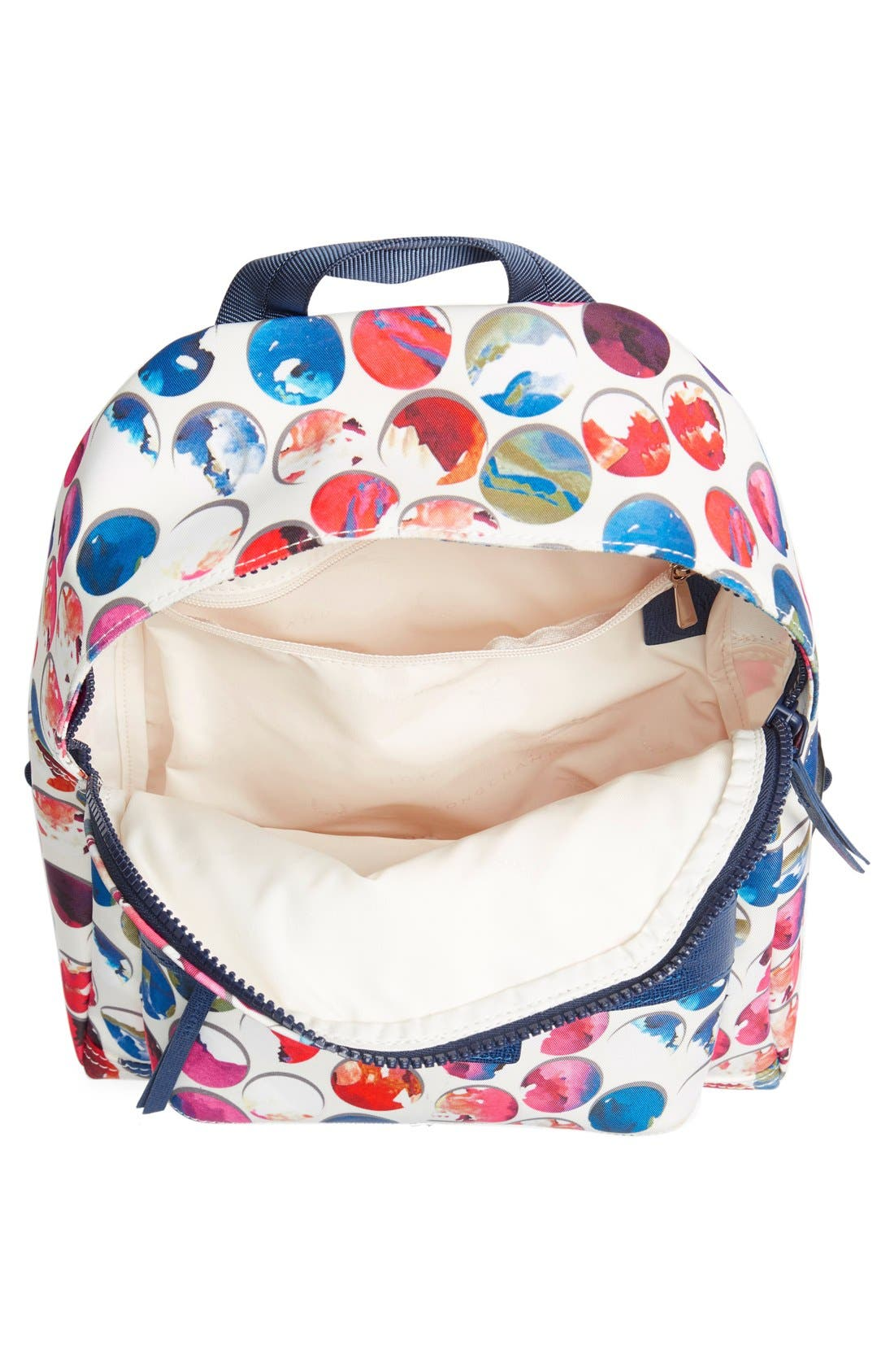 Alternate Image 4  - Longchamp 'Small Le Pliage - Neo Fantaisie' Canvas Backpack