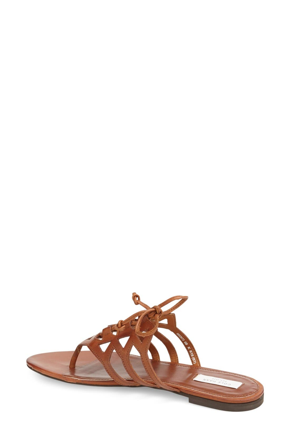 Alternate Image 2  - Cole Haan 'Claudia' Flat Lace-Up Sandal (Women)