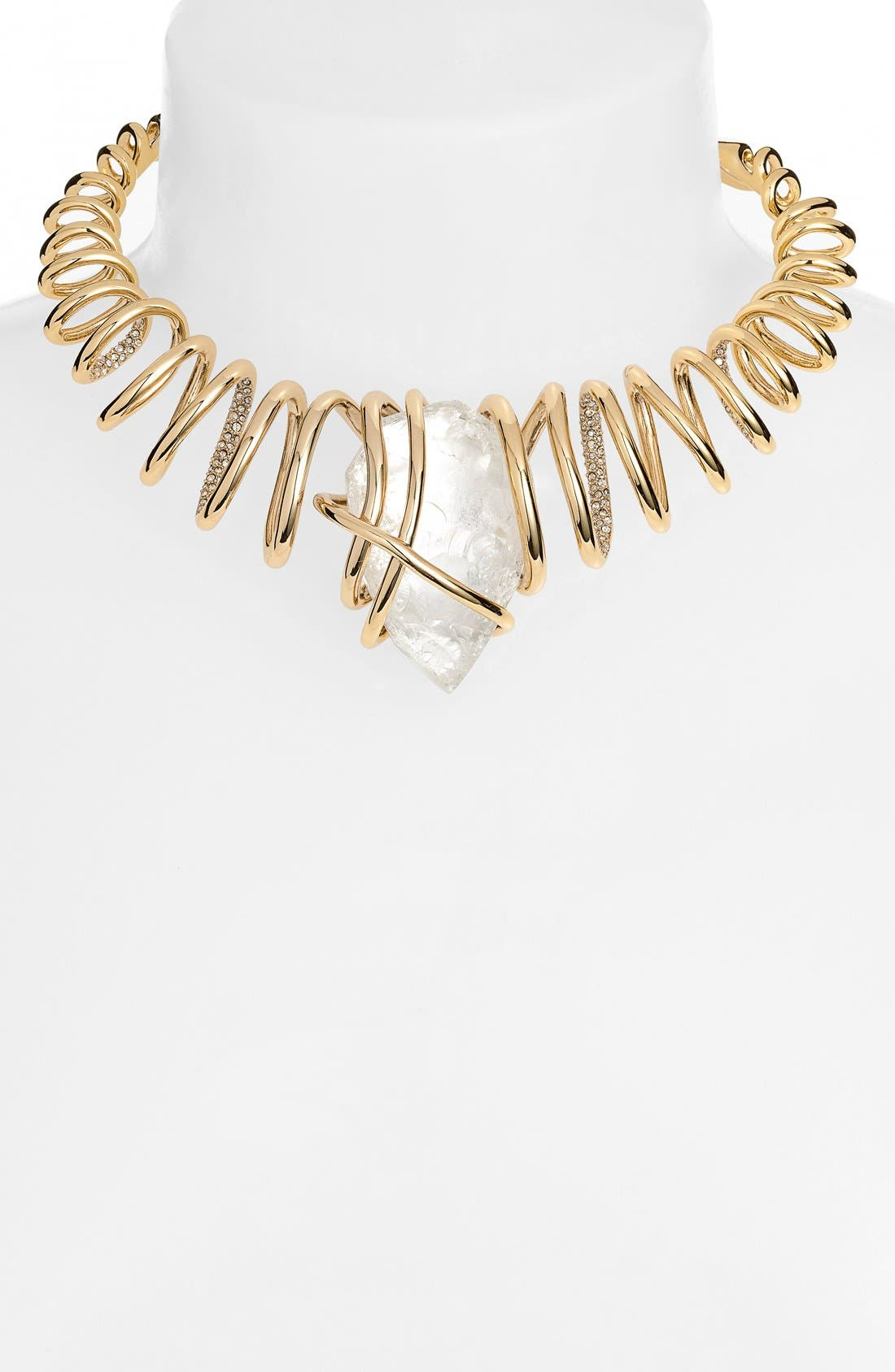 Alternate Image 2  - Alexis Bittar 'Miss Havisham' Encrusted Spiral Collar Necklace