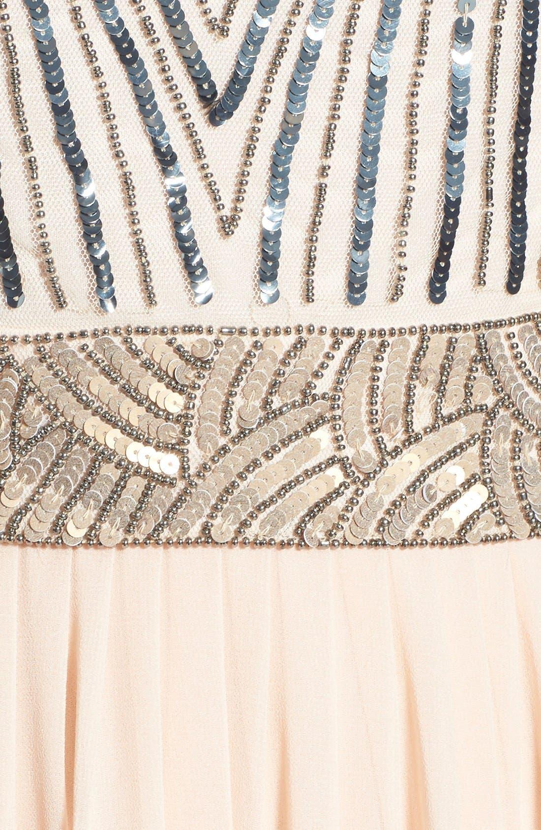 Alternate Image 5  - Lace & Beads 'Tina' Embellished Maxi Dress