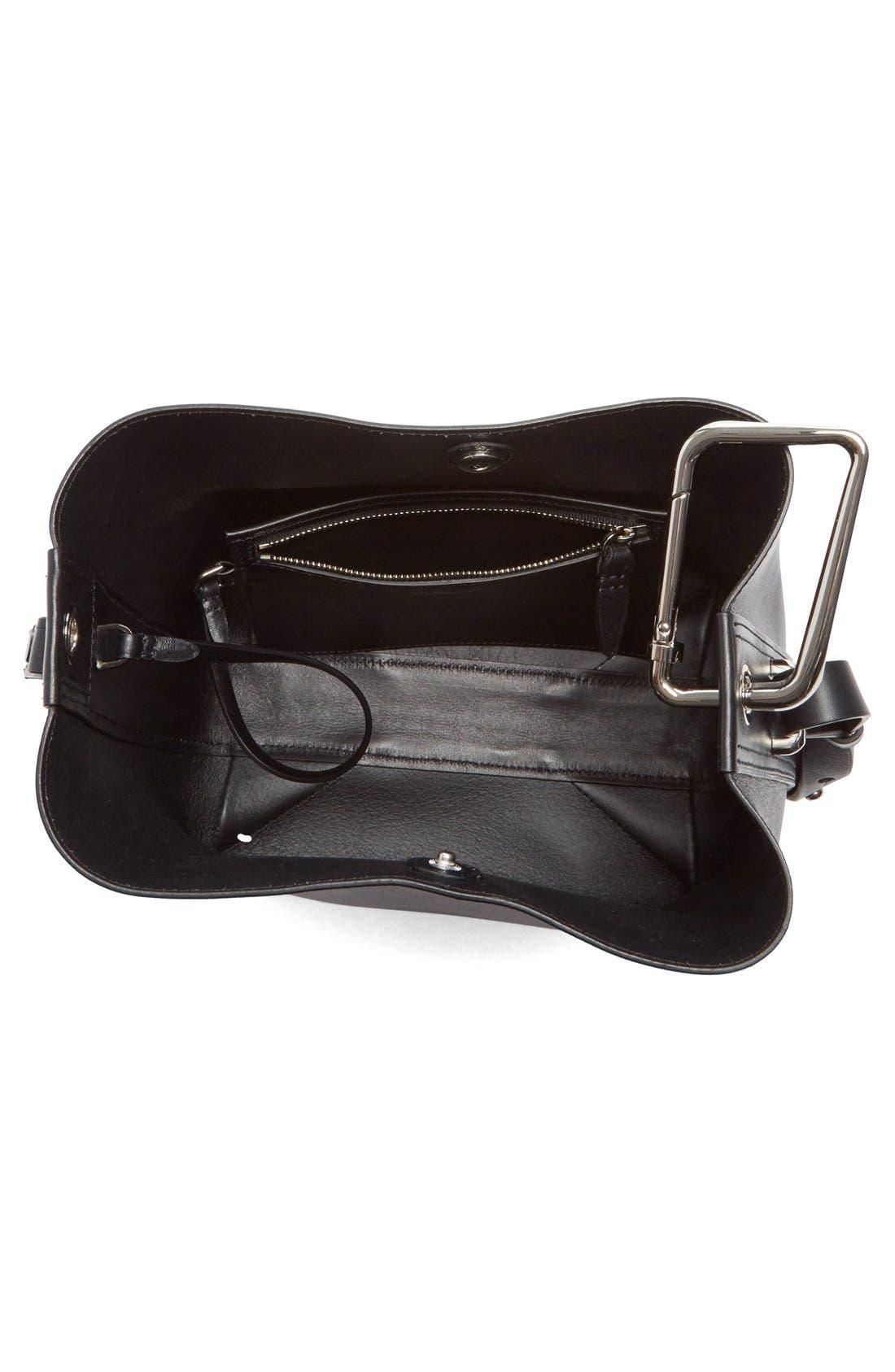 Alternate Image 4  - 3.1 Phillip Lim 'Mini Quill' Leather Bucket Bag