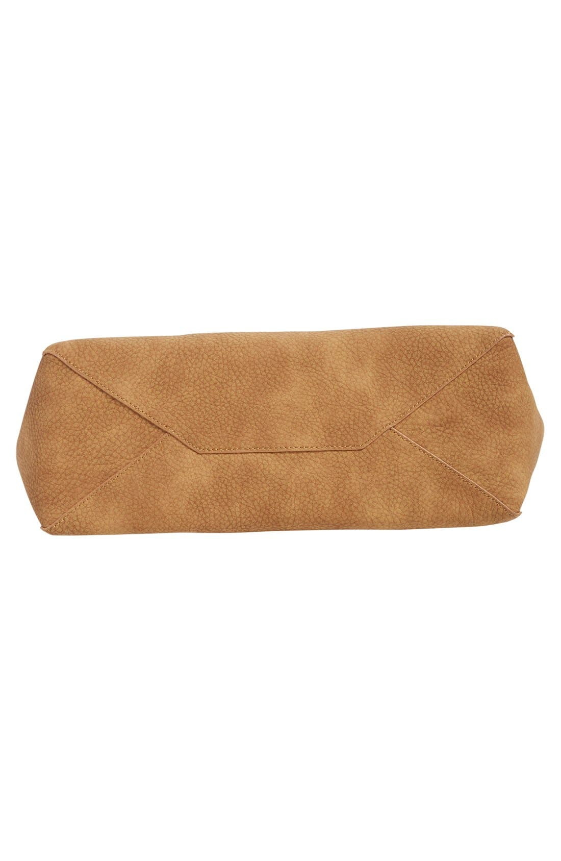 Alternate Image 6  - BP. Zip Detail Faux Leather Tote
