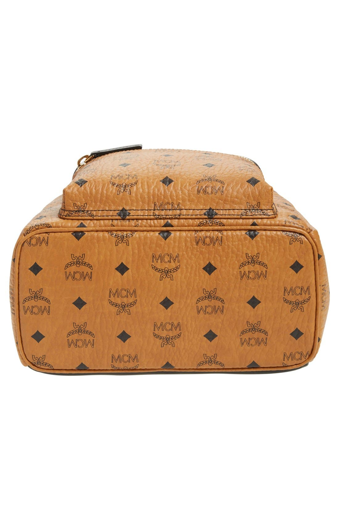Alternate Image 6  - MCM Backpack 'Small Stark' Coated Canvas Backpack (Nordstrom Exclusive)