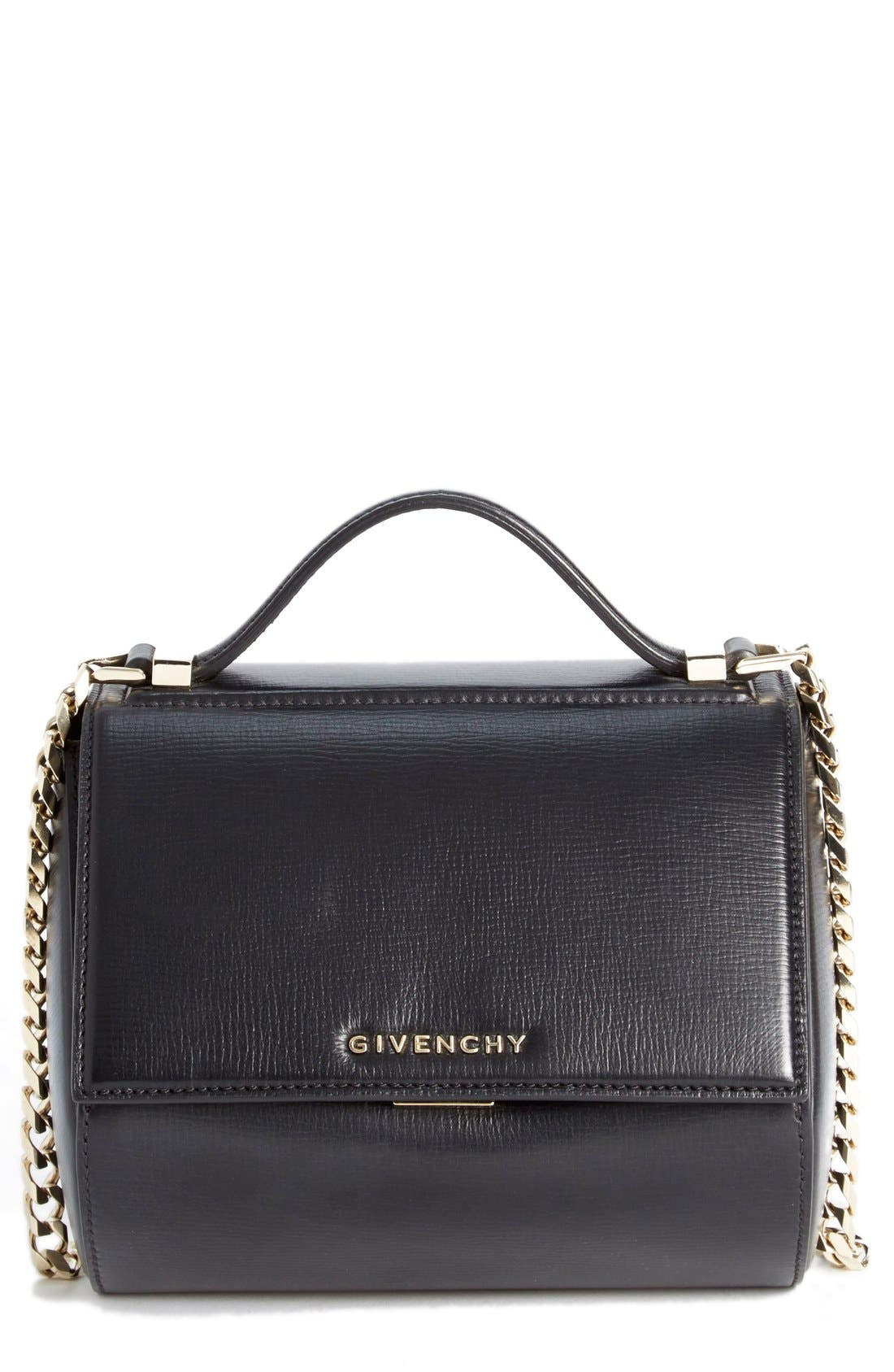 GIVENCHY 'Mini Pandora Box - Palma' Leather Shoulder