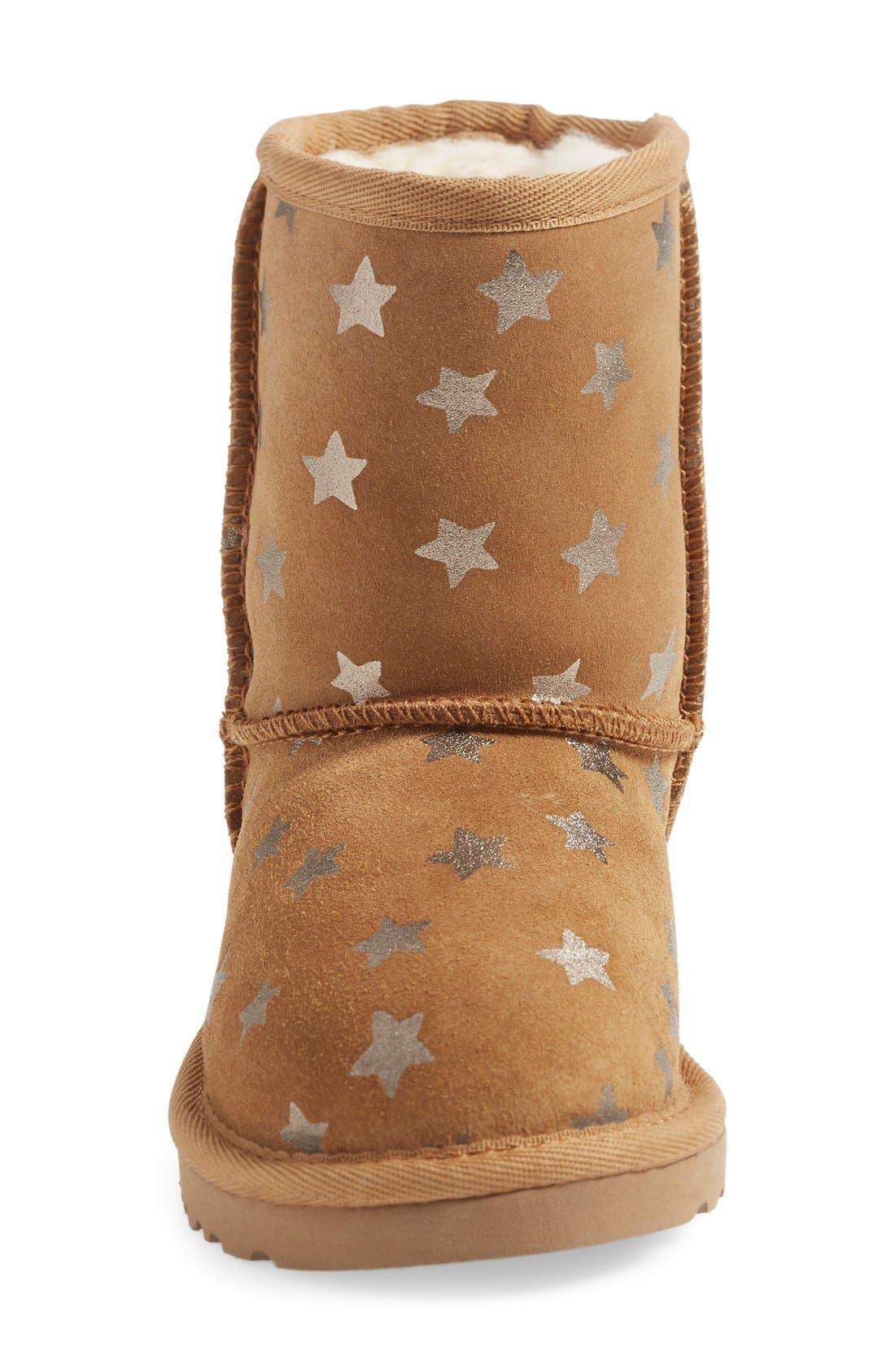Alternate Image 3  - UGG® Classic - Stars Short Boot (Walker) (Nordstrom Exclusive)