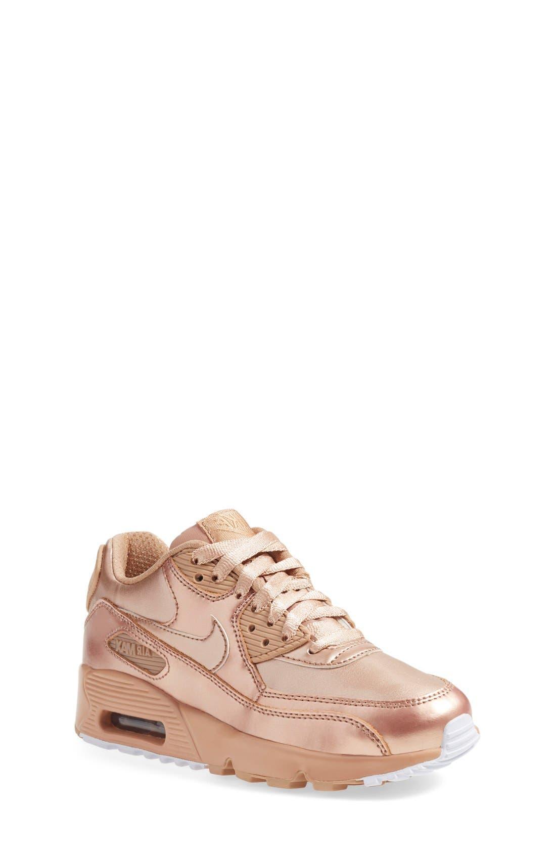 Alternate Image 1 Selected - Nike Air Max 90 SE Sneaker (Big Kids)