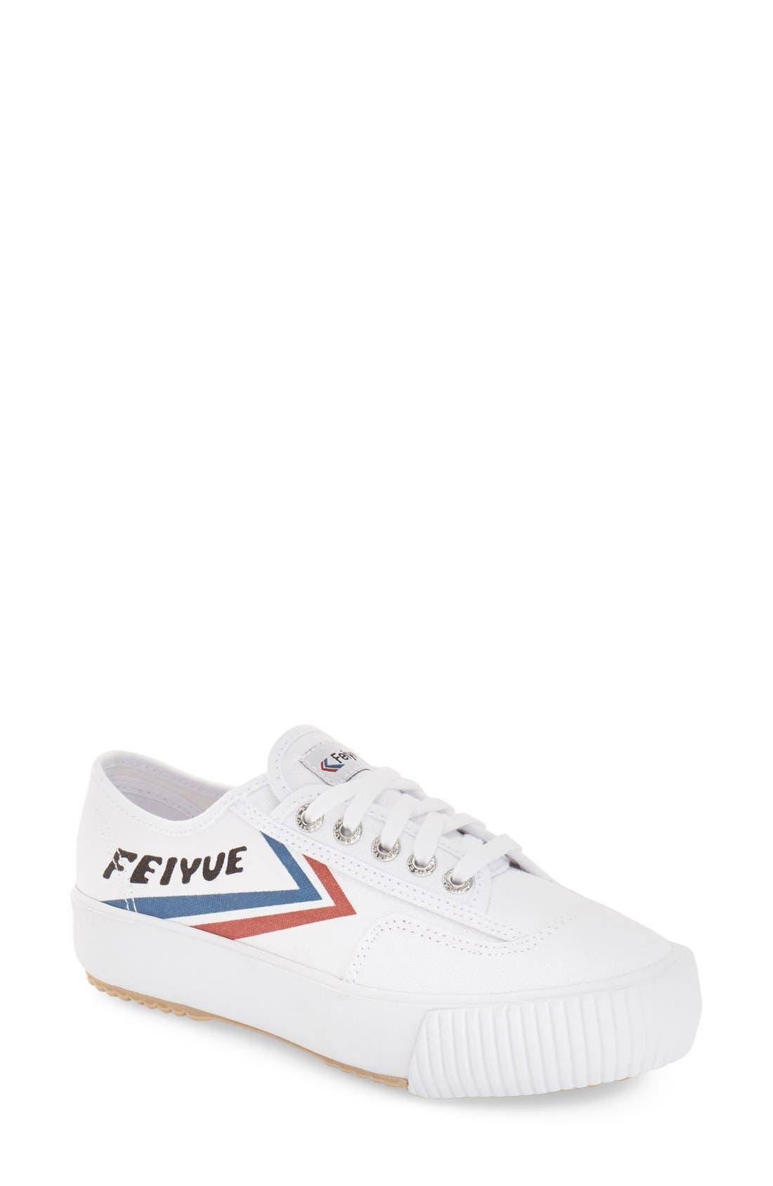 Alternate Image 1 Selected - Feiyue. 'Fe Lo Platform' Canvas Sneaker (Women)