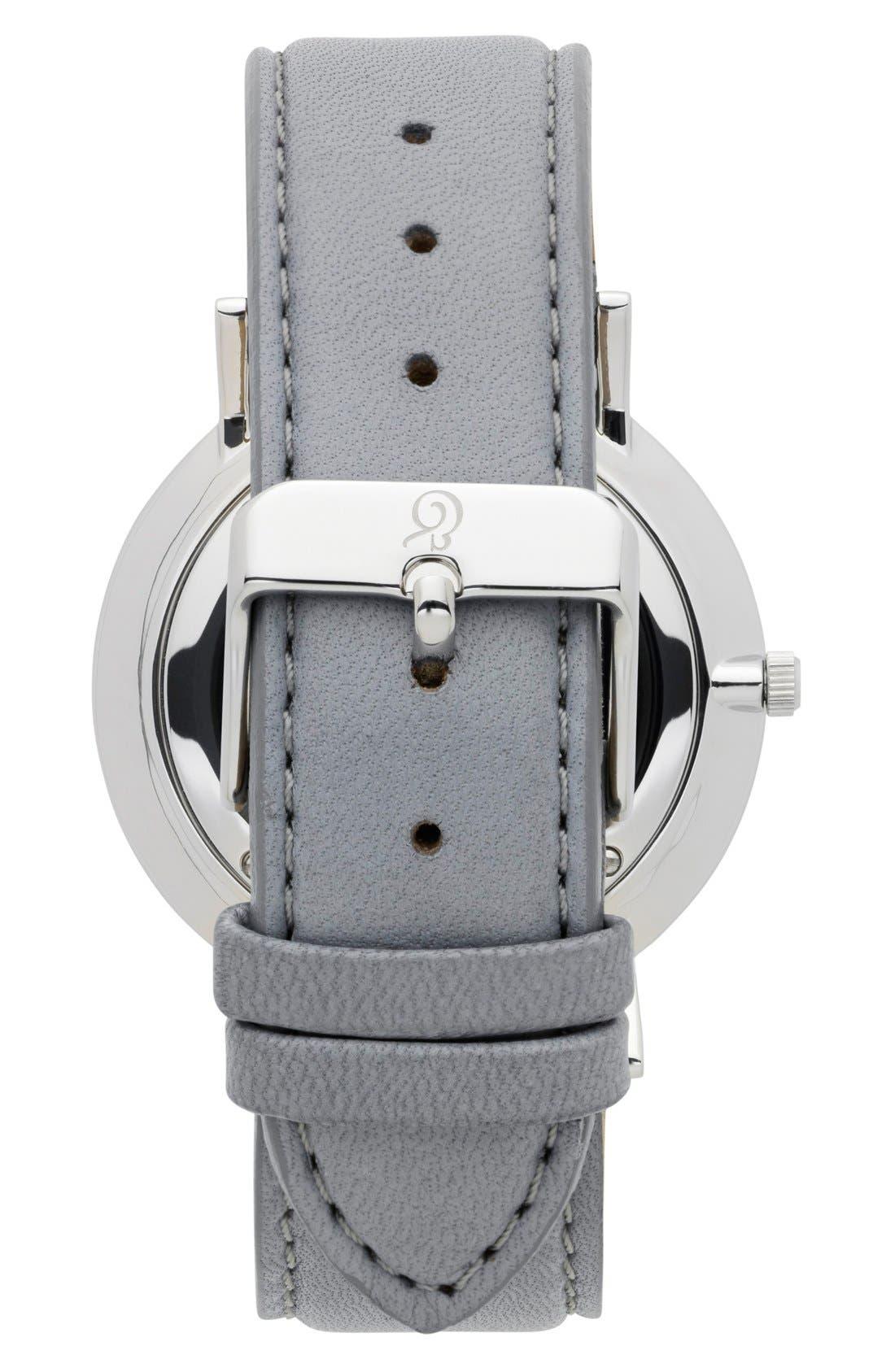 Alternate Image 2  - Larsson & Jennings 'Lugano' Leather Strap Watch, 40mm